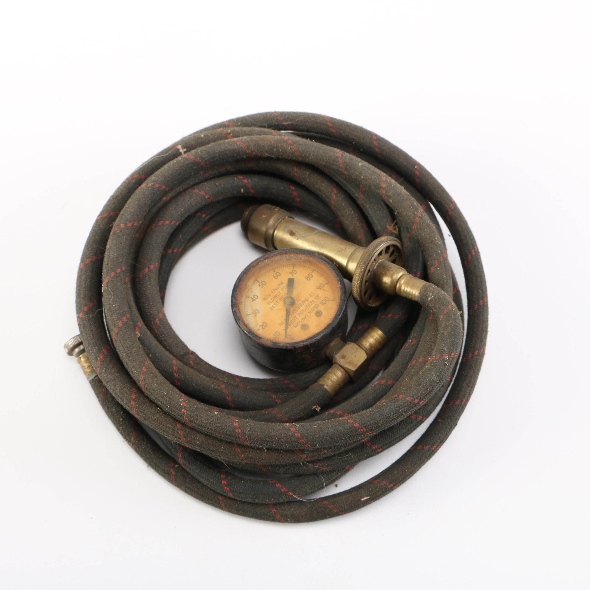 Vintage Tractor Tire Inflator