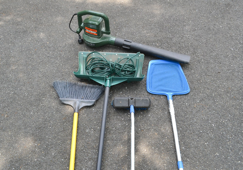 Assortment of Outside Tools