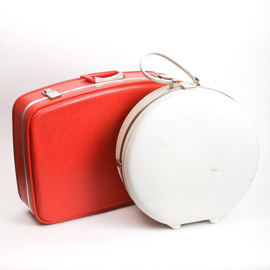 Vintage Carry-On Size Luggage Pieces