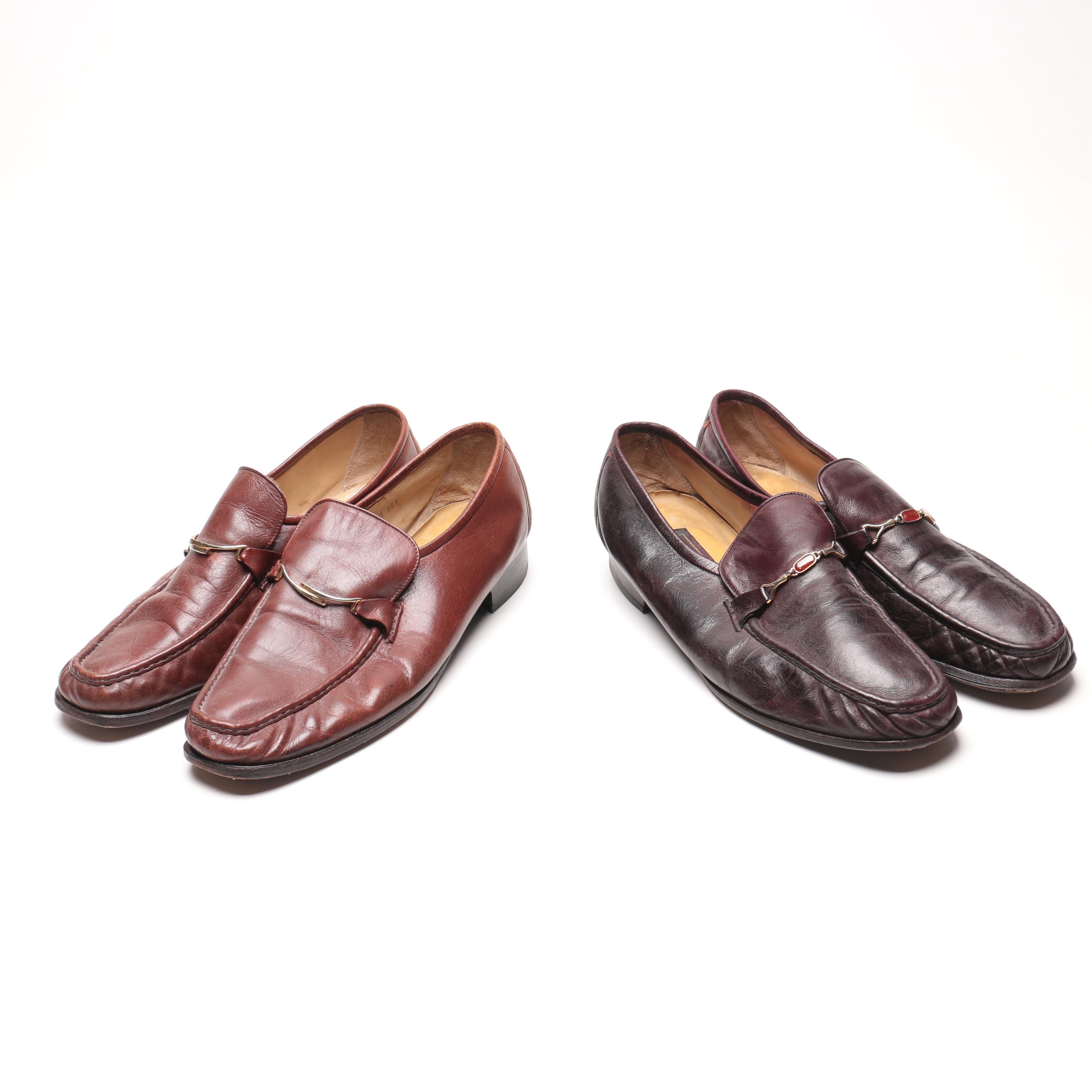 Baker Benjes Men's Leather Loafers