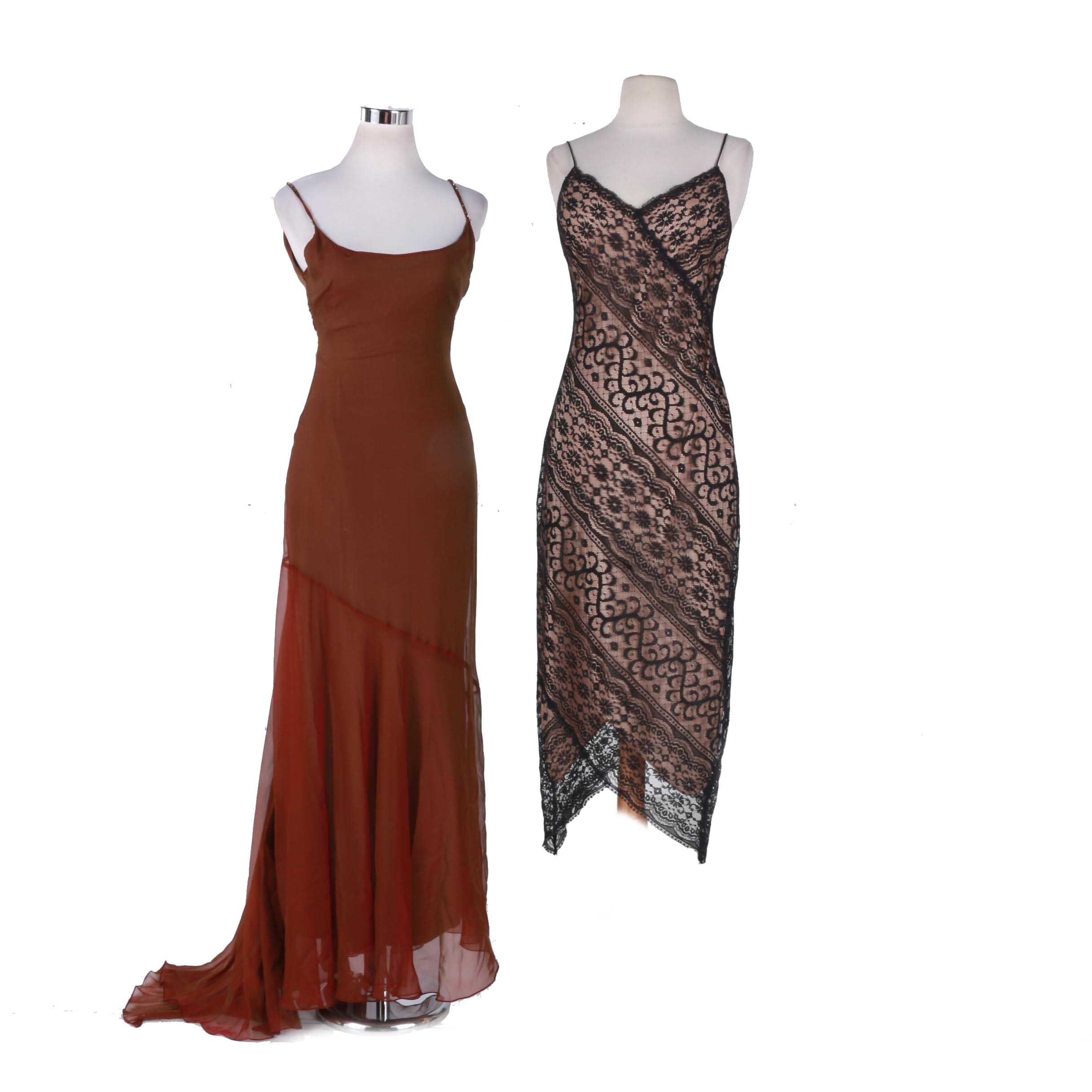 Evening Dresses Including Laundry By Shelli Segal