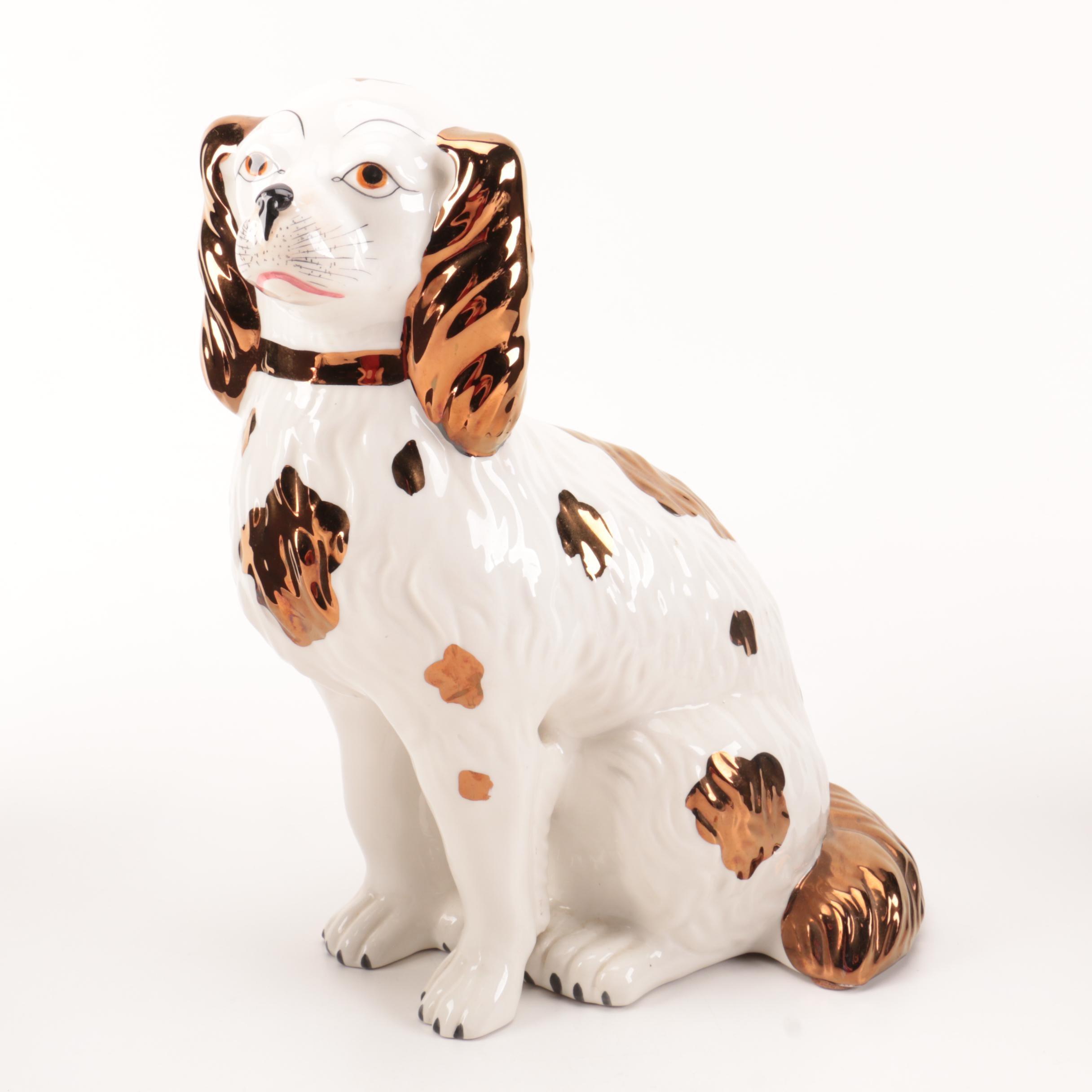 Cavalier King Charles Spaniel Ceramic Figurine