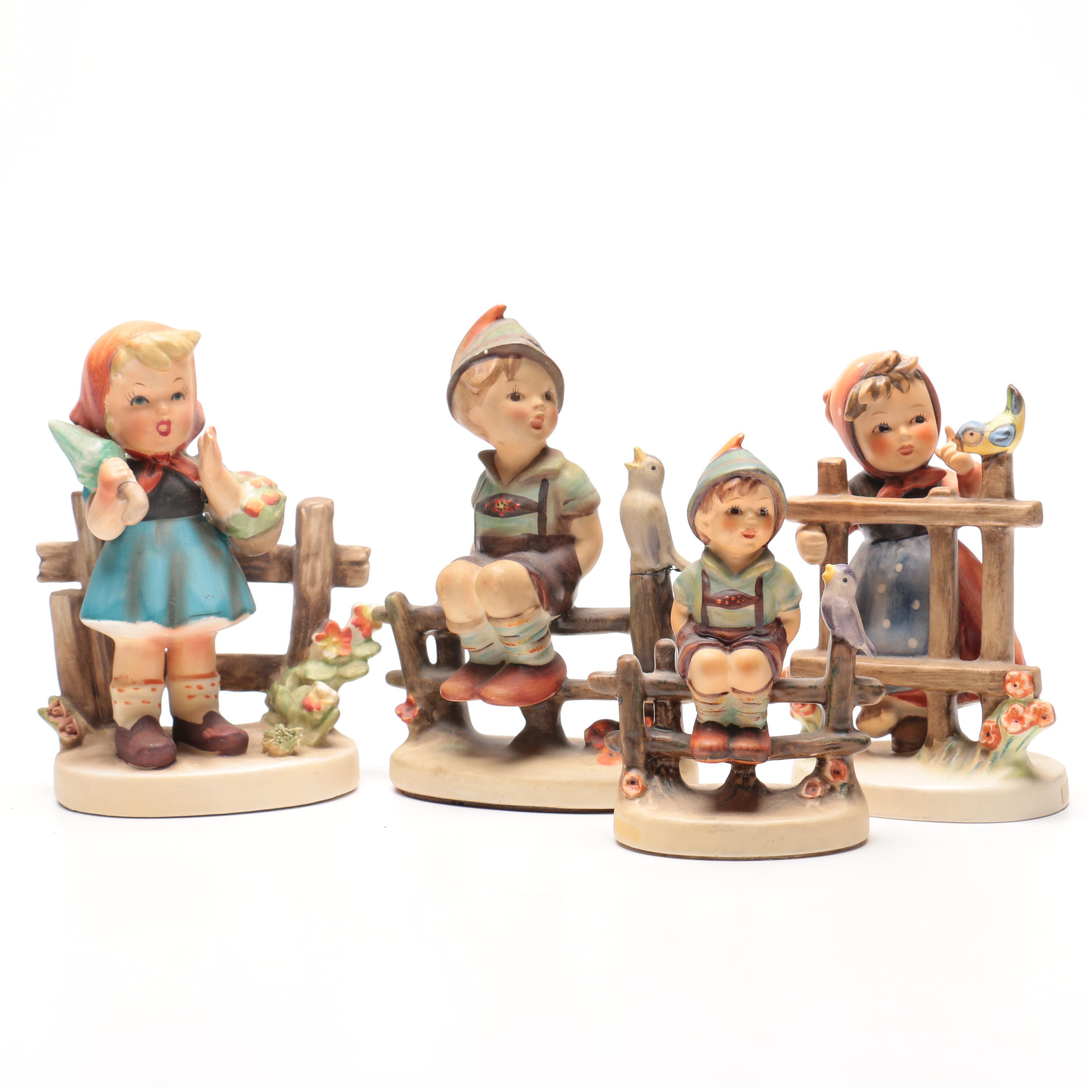 Four Hummel Figurines