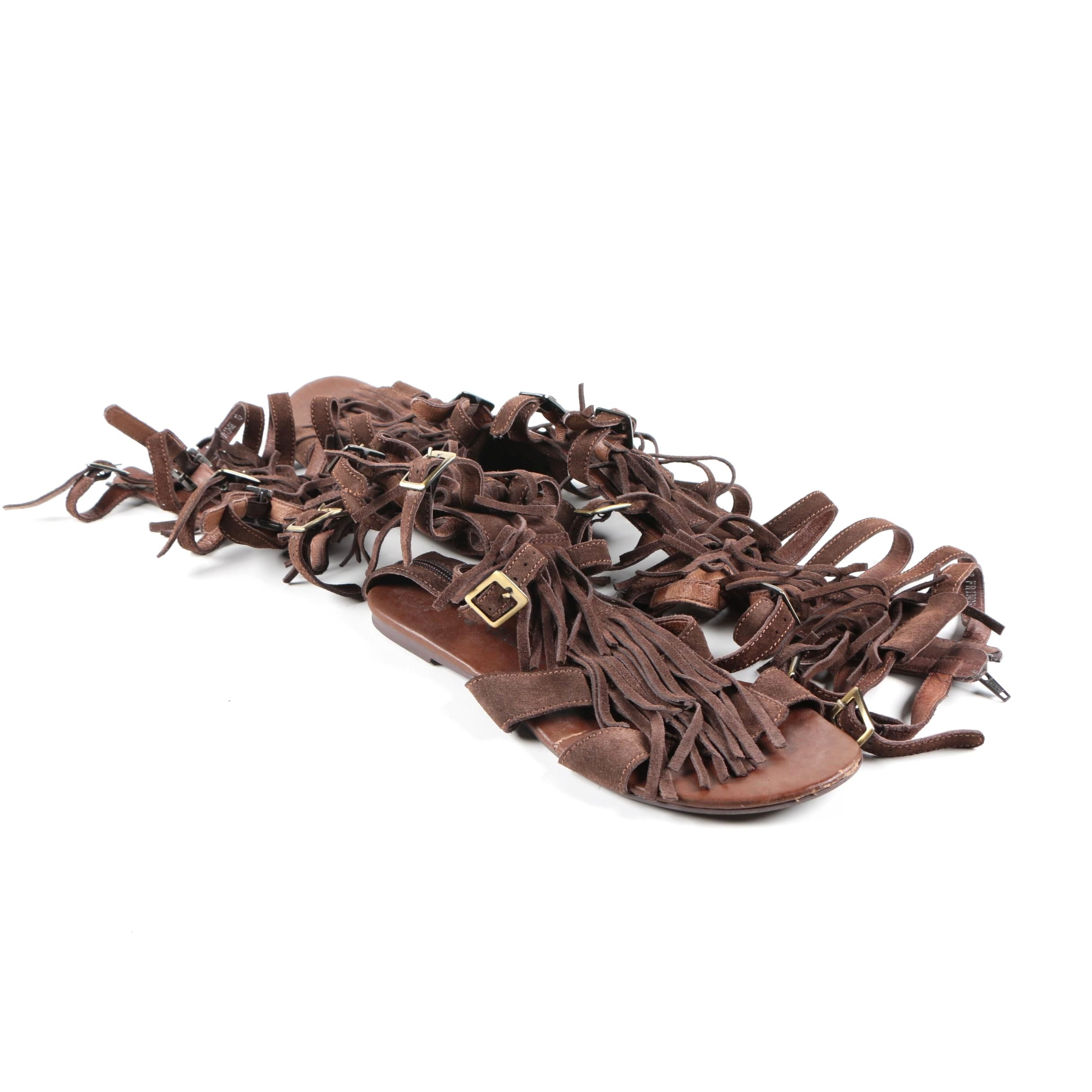 "Jeffrey Campbell ""Pampa"" Gladiator Sandals"