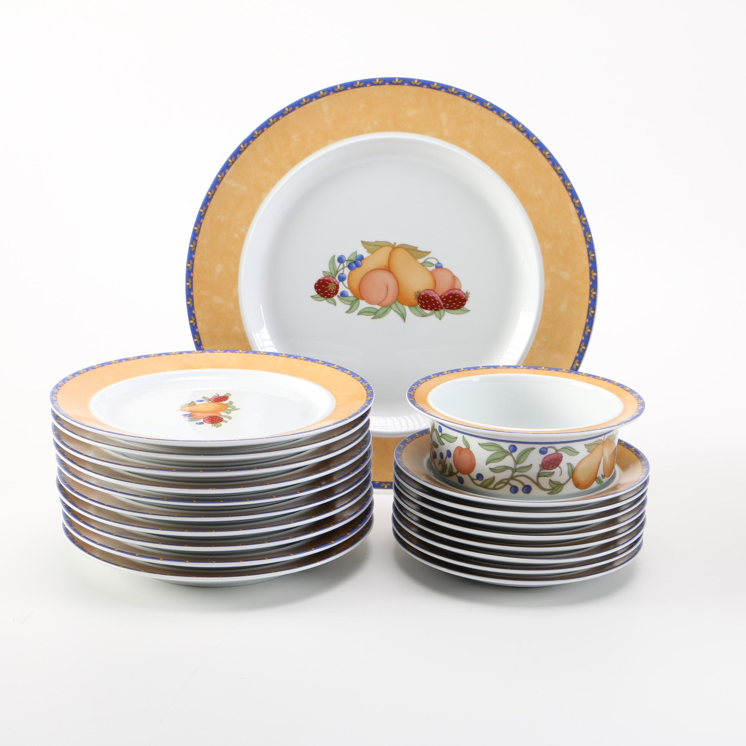 Dansk Fiance Fruit Dinnerware ...  sc 1 st  EBTH.com & Dansk Fiance Fruit Dinnerware : EBTH