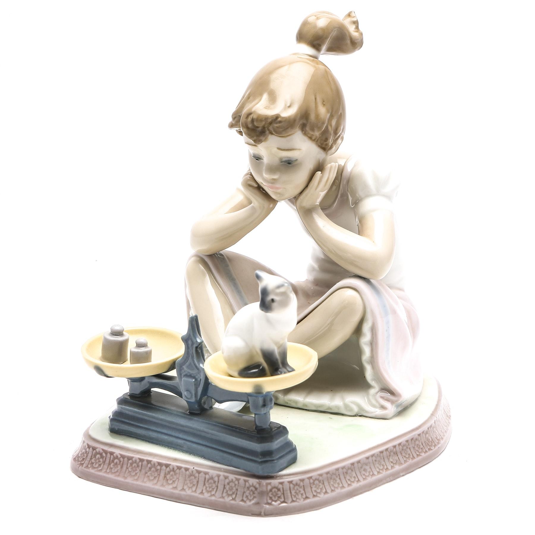 "LLadro Figurine ""How You've Grown"" #5474"