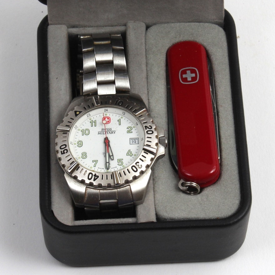 Wenger Swiss Military Watch And Army Knife Ebth