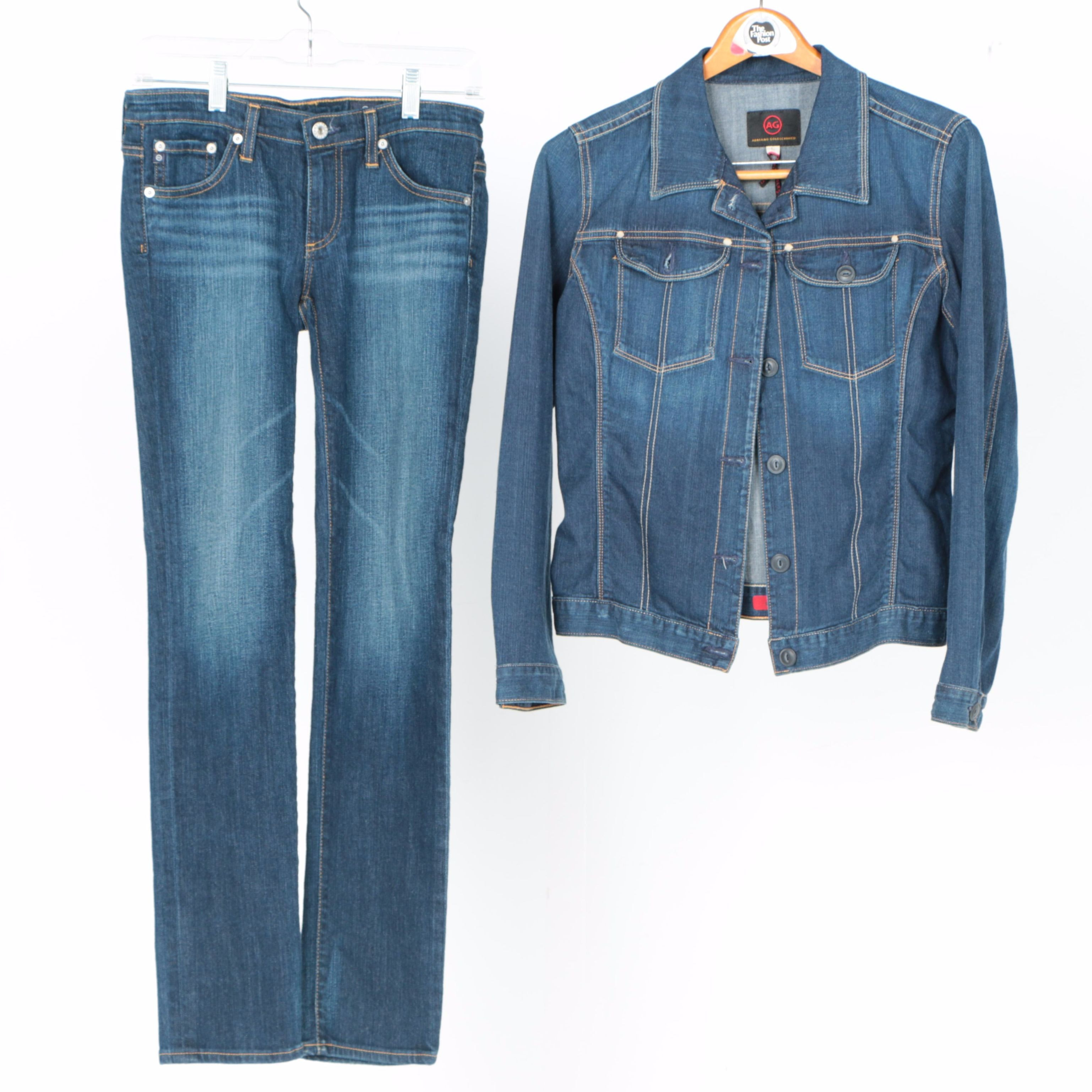 Adriano Goldschmied Denim Jacket and Jeans