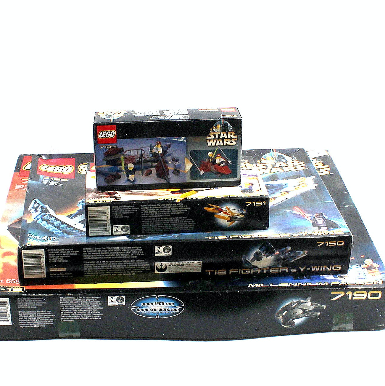 "Lego ""Star Wars"" Building Kits"