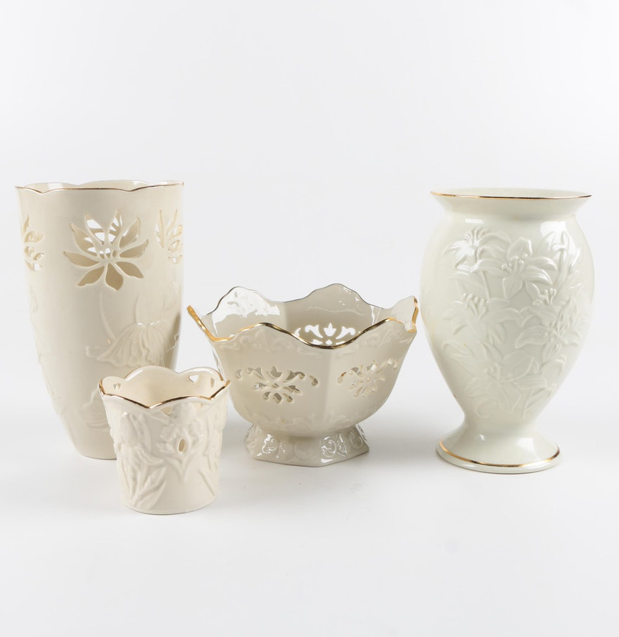 Collection of lenox porcelain vases ebth collection of lenox porcelain vases floridaeventfo Image collections