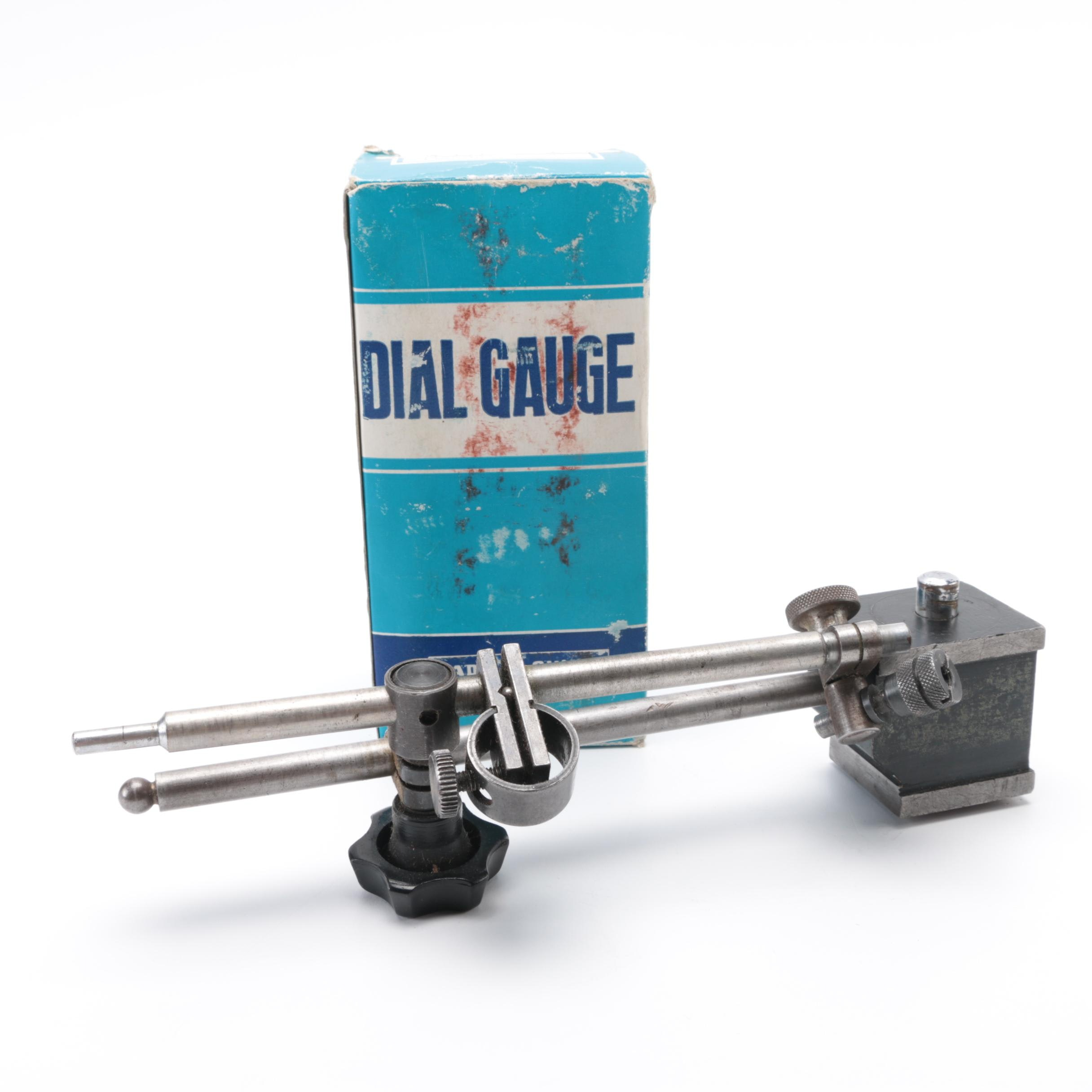 Dial Gauge and Magnetic Base