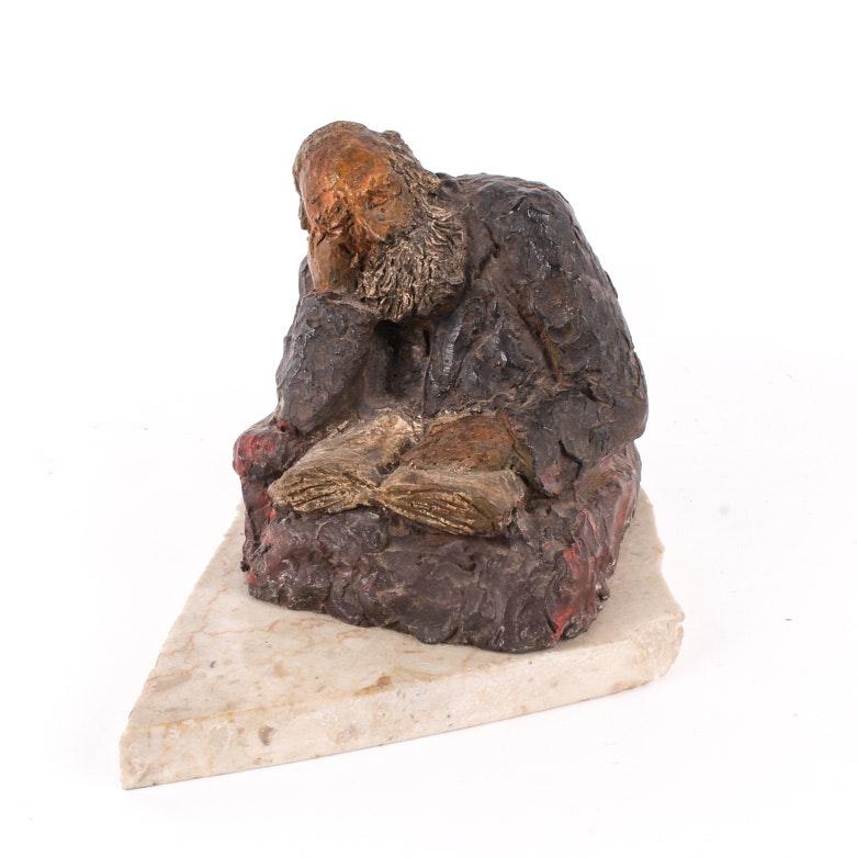 Sculpture of a Rabbi