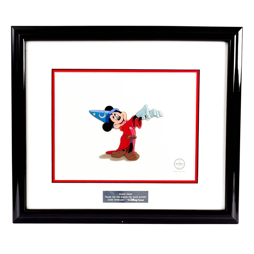 """Mickey Mouse """"Fantasia"""" Limited Edition Sericel"""
