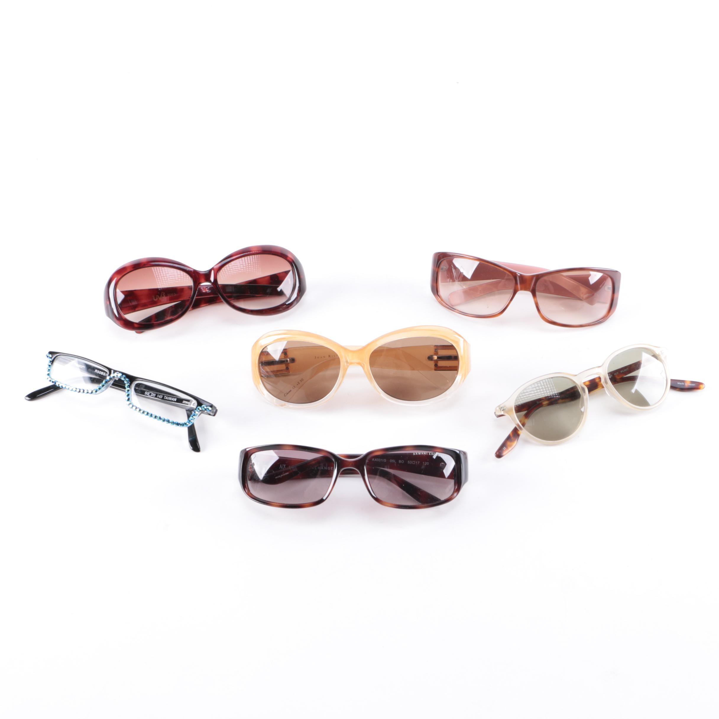 Assortment of Glasses Including Kate Spade