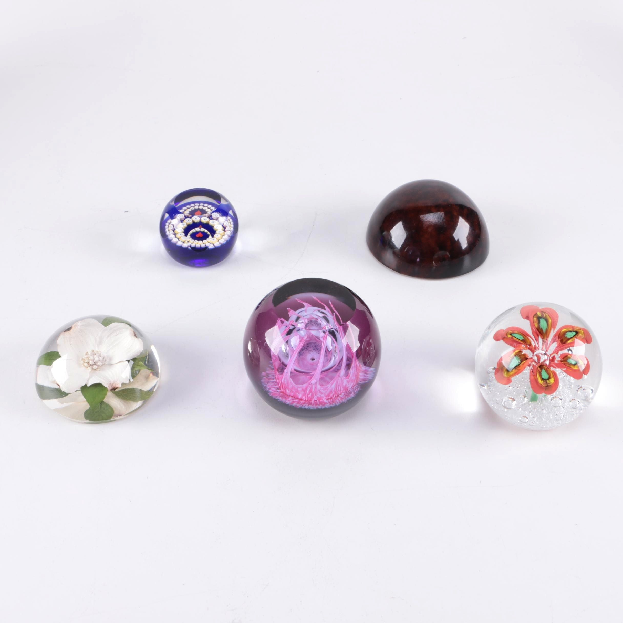 Assorted Glass Paperweights