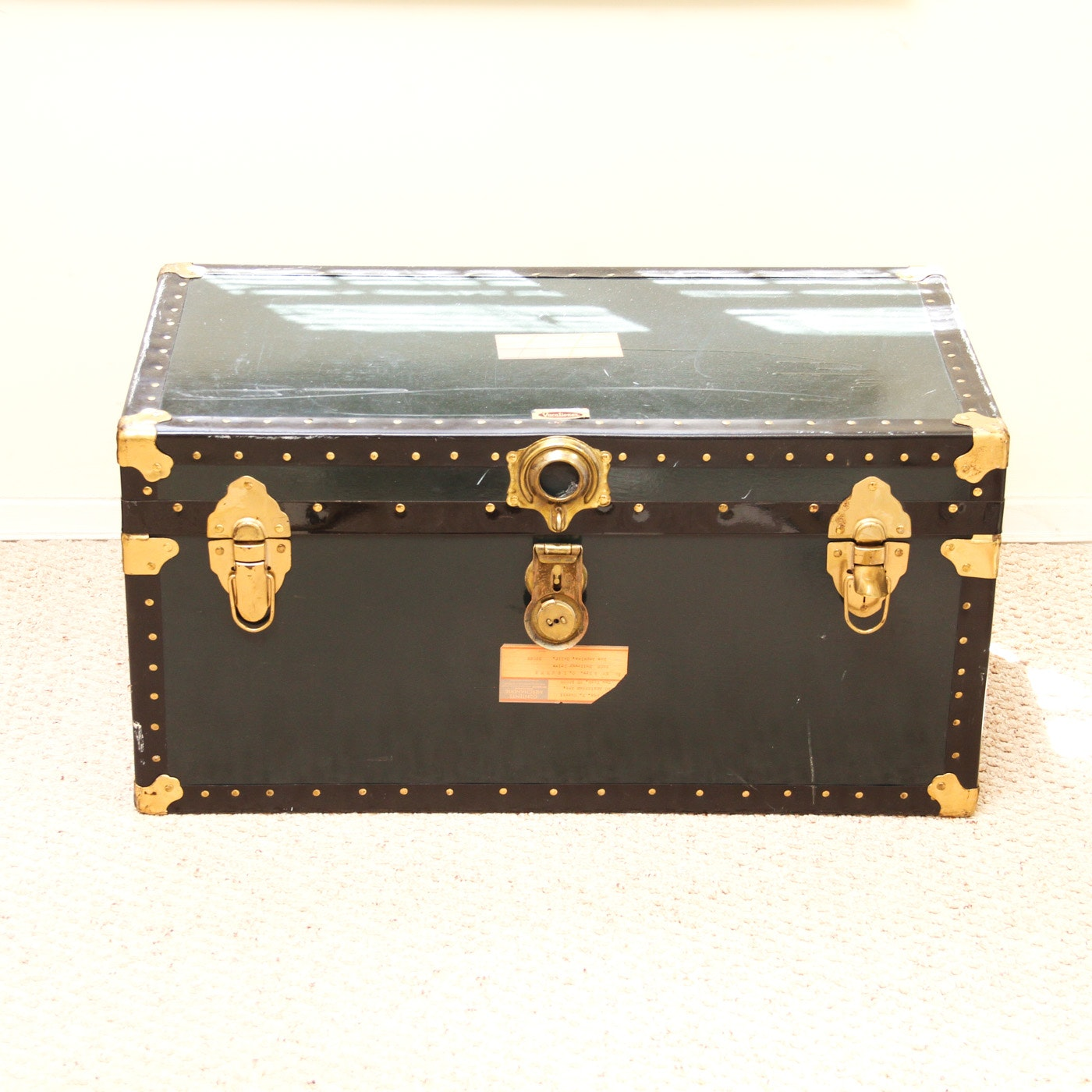 Vintage Foot Locker Type Trunk