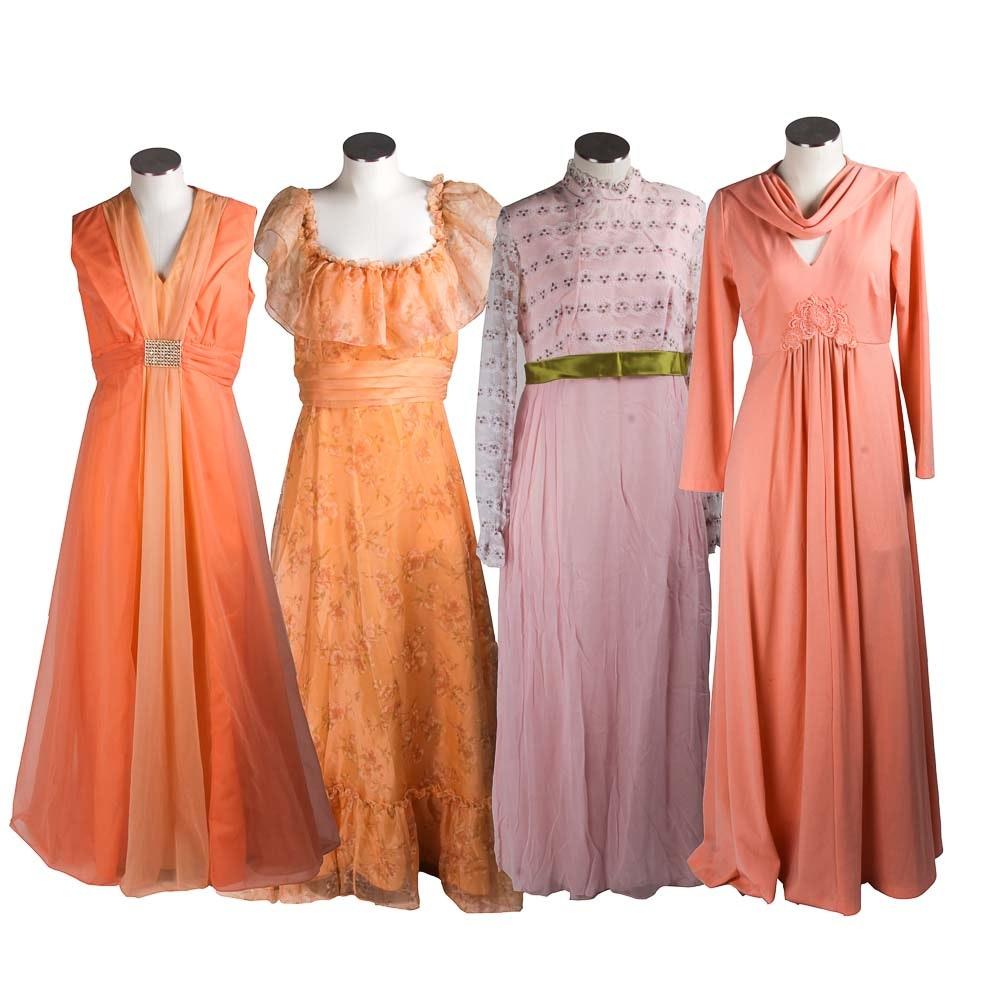Long Pastel Dresses