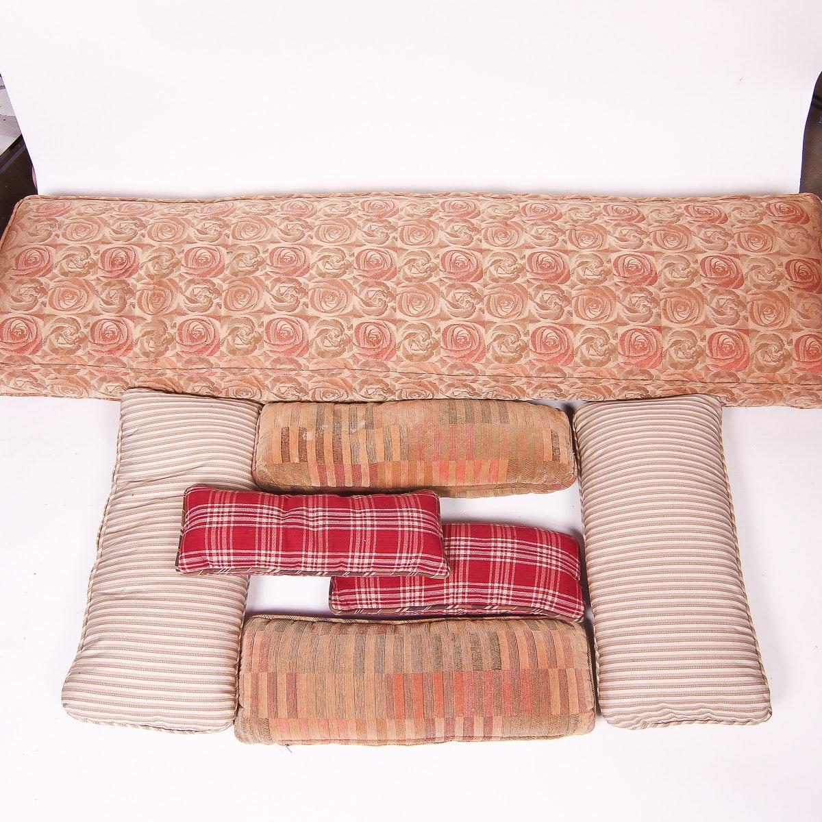 Assortment of Decorative Pillows