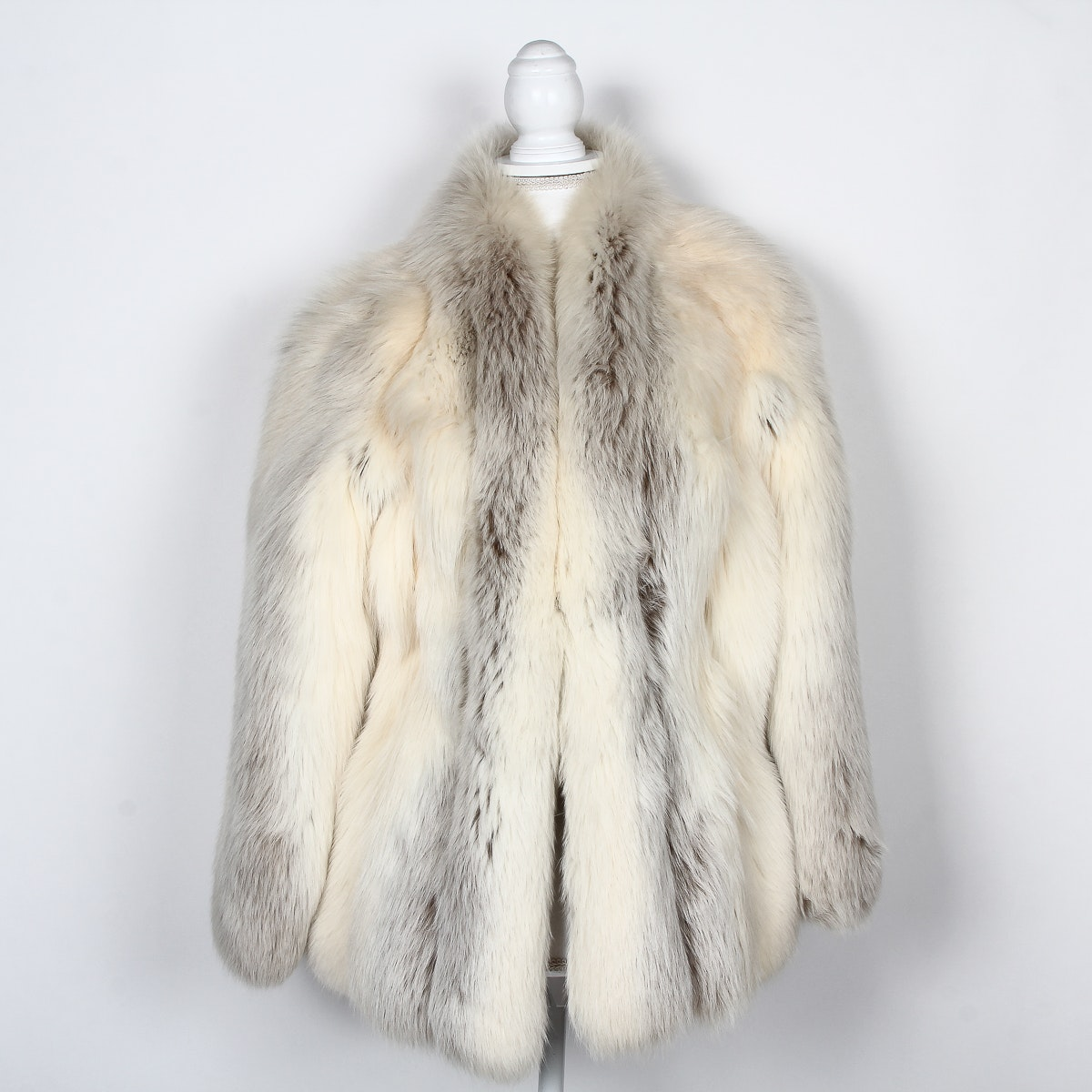 Vintage White Mink Coat