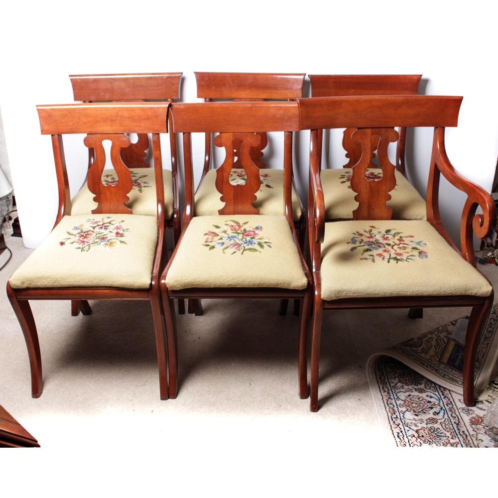 Willett Furniture Wildwood Cherry Chair Set ...