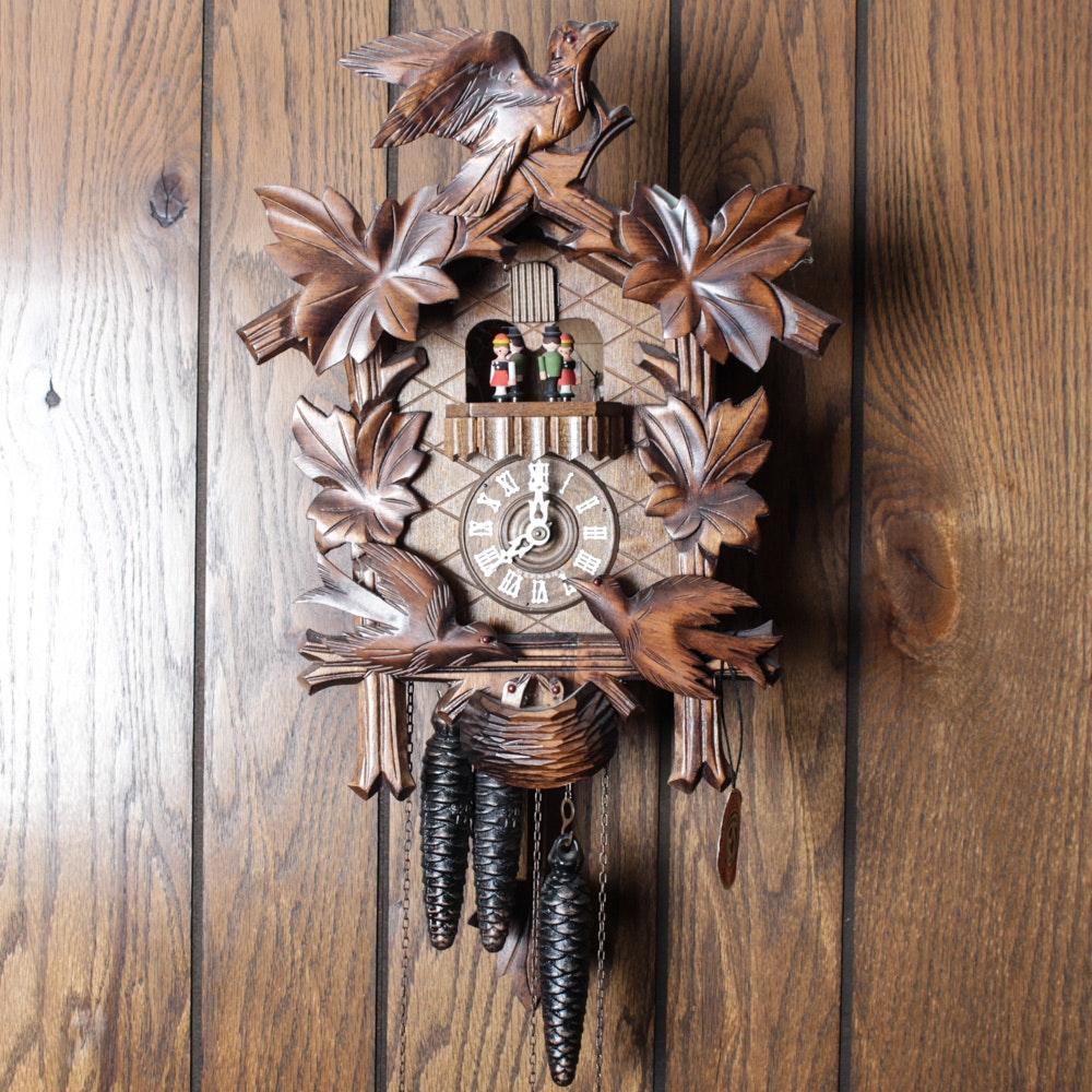 Vintage Schneider Black Forest Cuckoo Clock