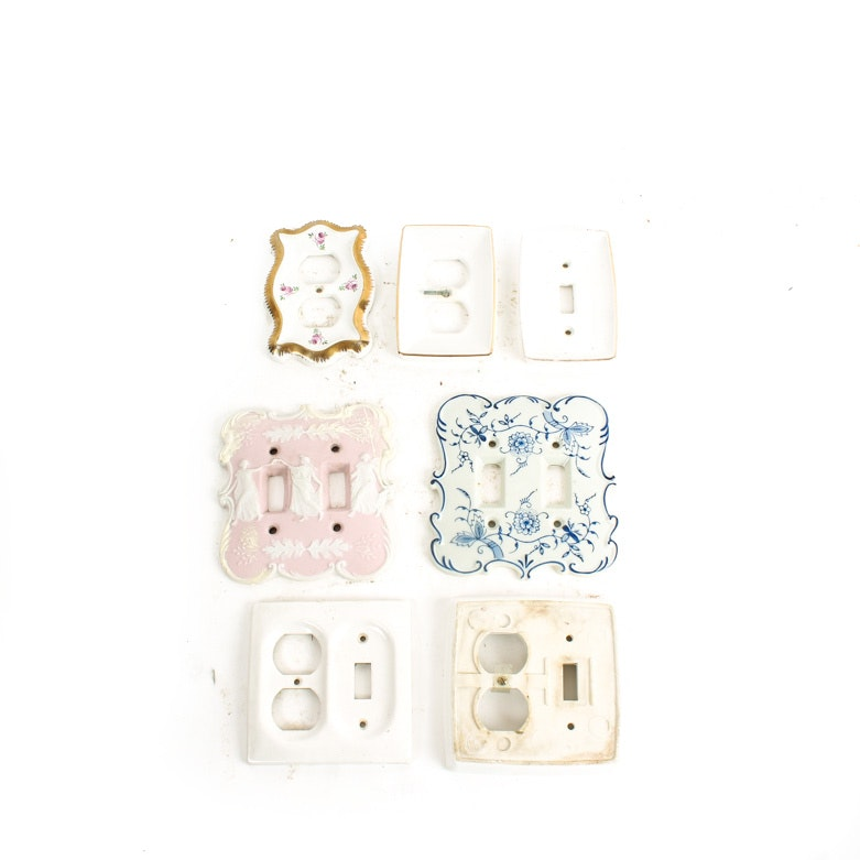 Light Switch Plates Featuring Wedgewood
