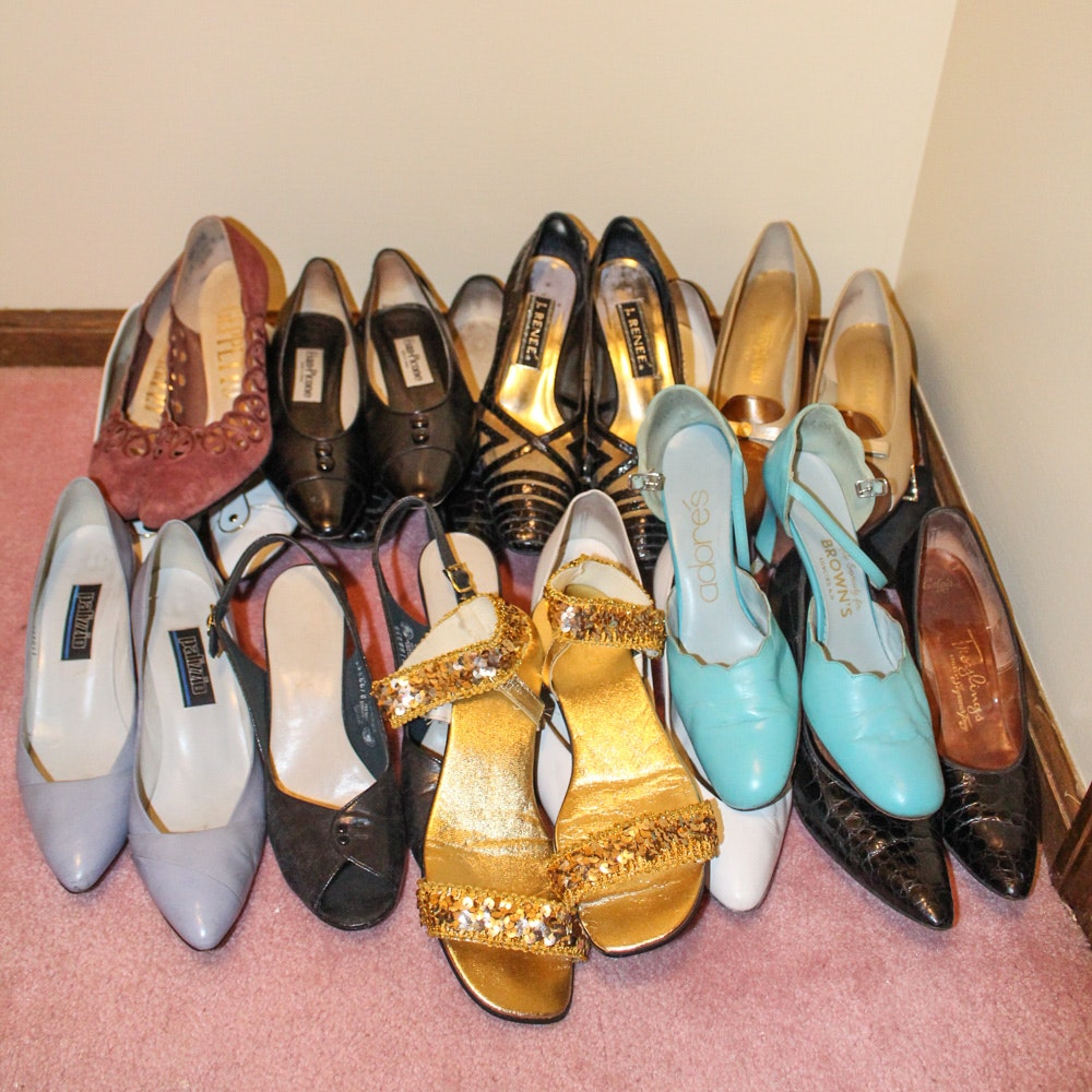 Vintage Women's Shoe Collection