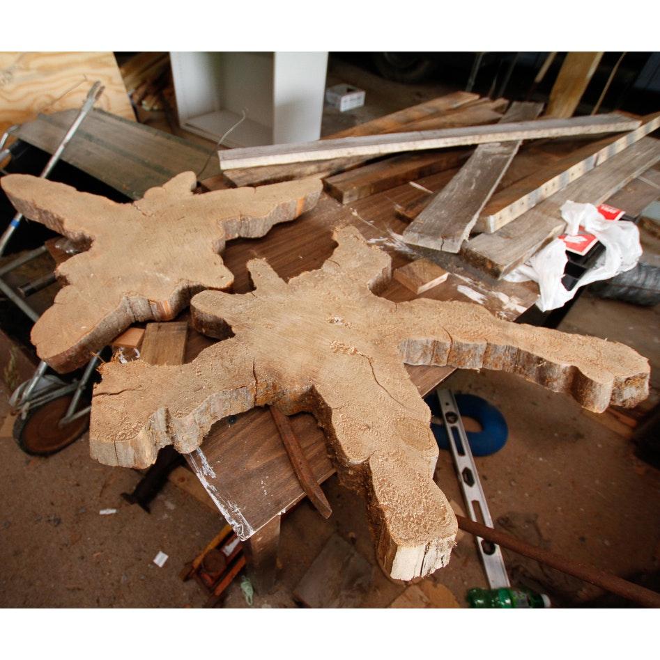Carved Wood Slabs
