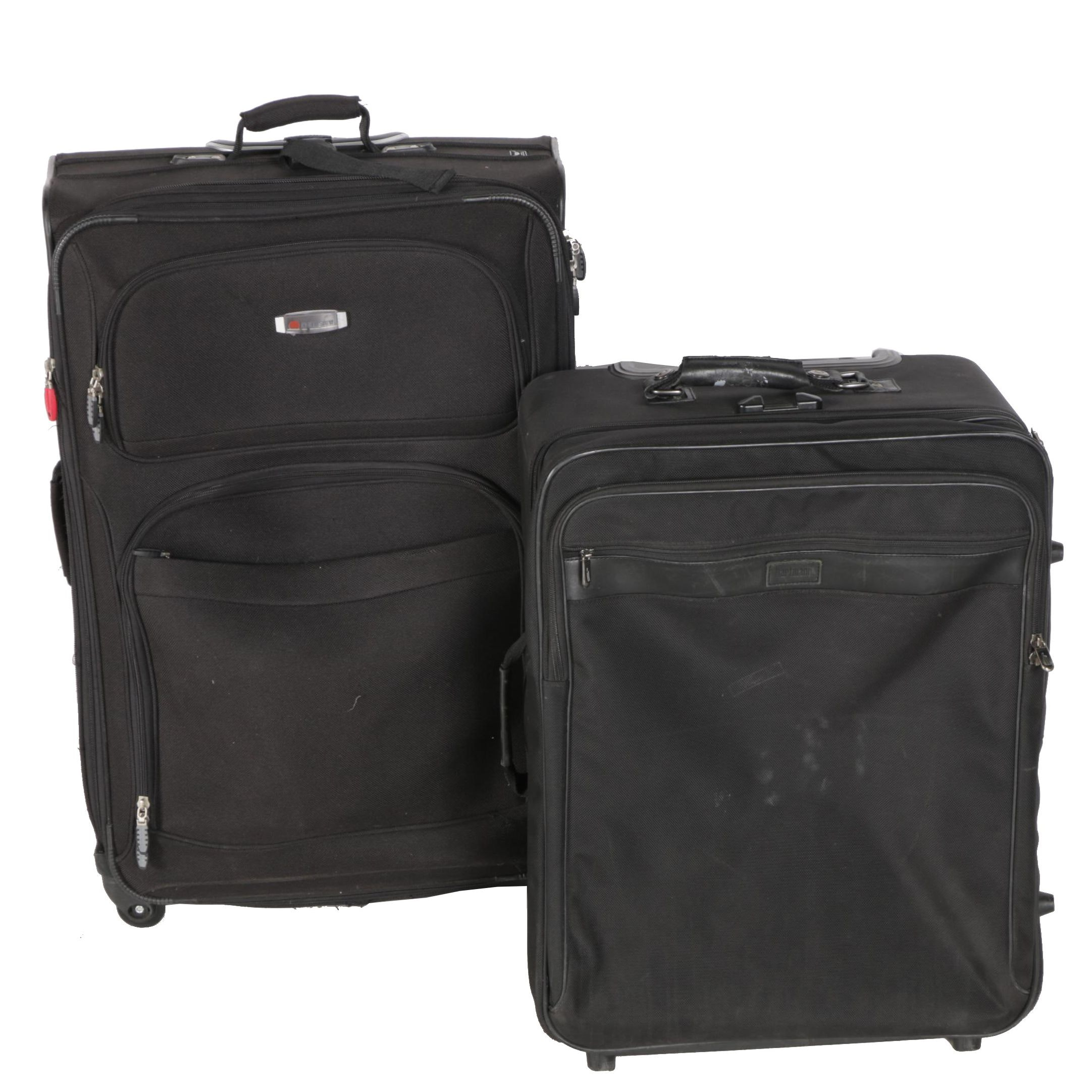 Delsey and Hartmann Luggage