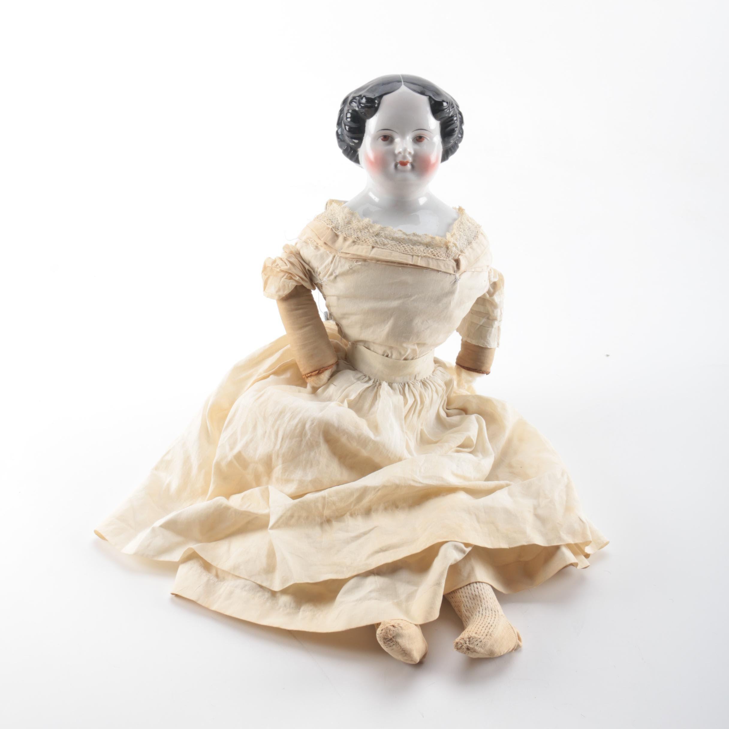 19th-Century China Doll