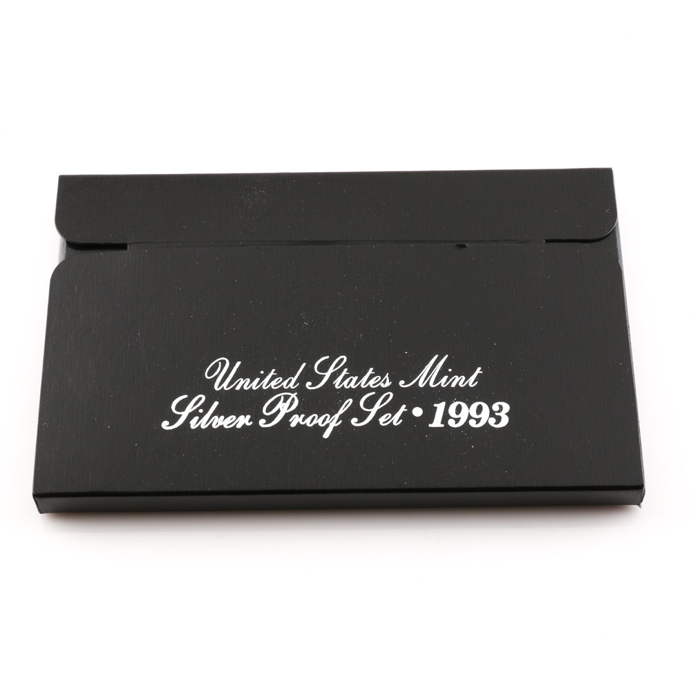 1993 U.S. Mint Silver Proof Set