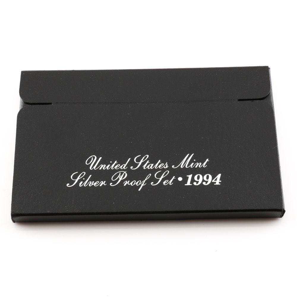 1994 U.S. Mint Silver Proof Set