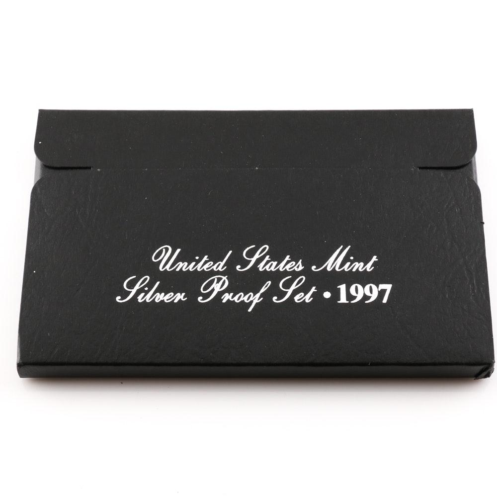 1997 U.S. Mint Silver Proof Set