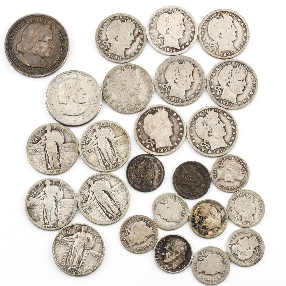 Assortment of U.S. Antique Silver Coins