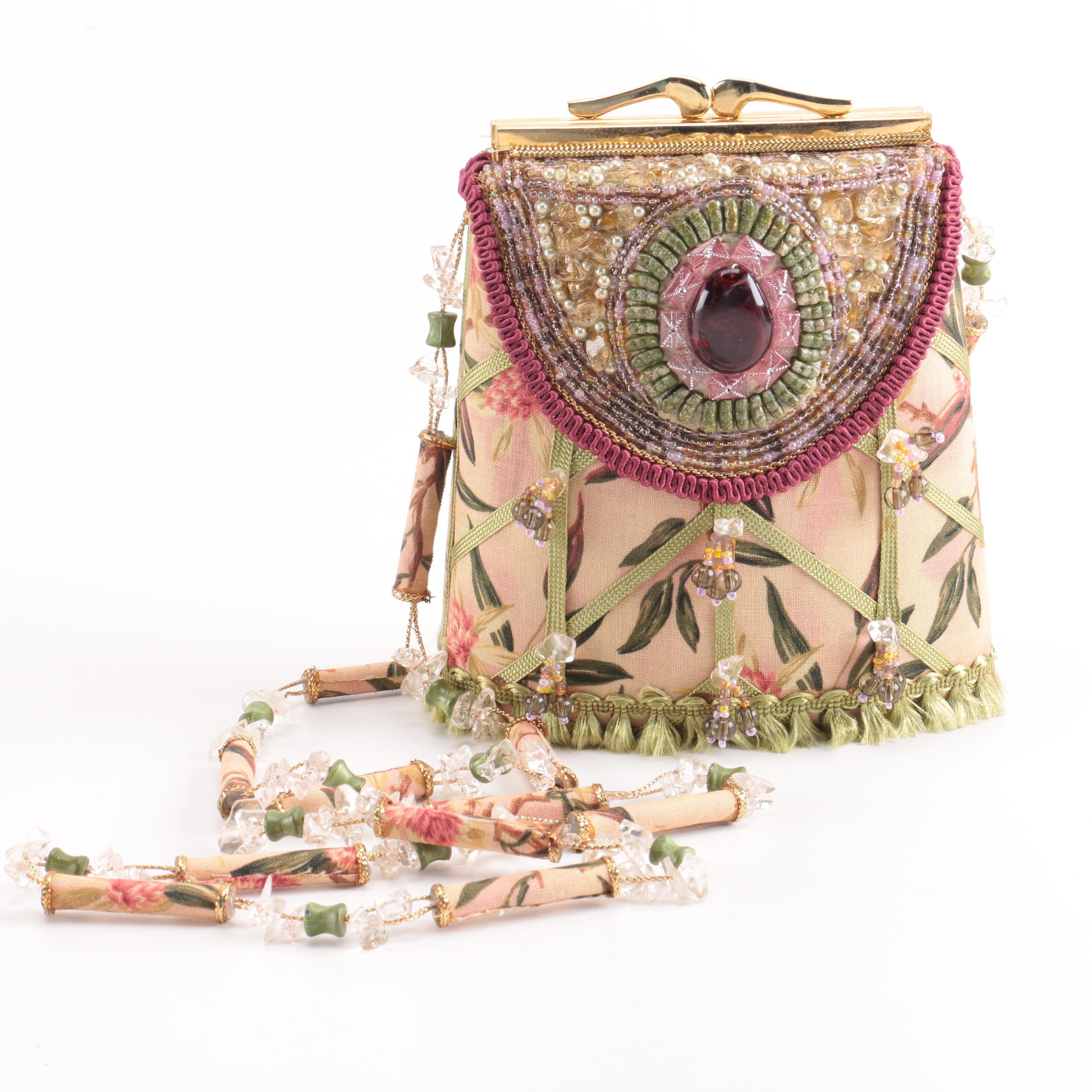 Mary Frances Floral Crossbody Bag  EBTH