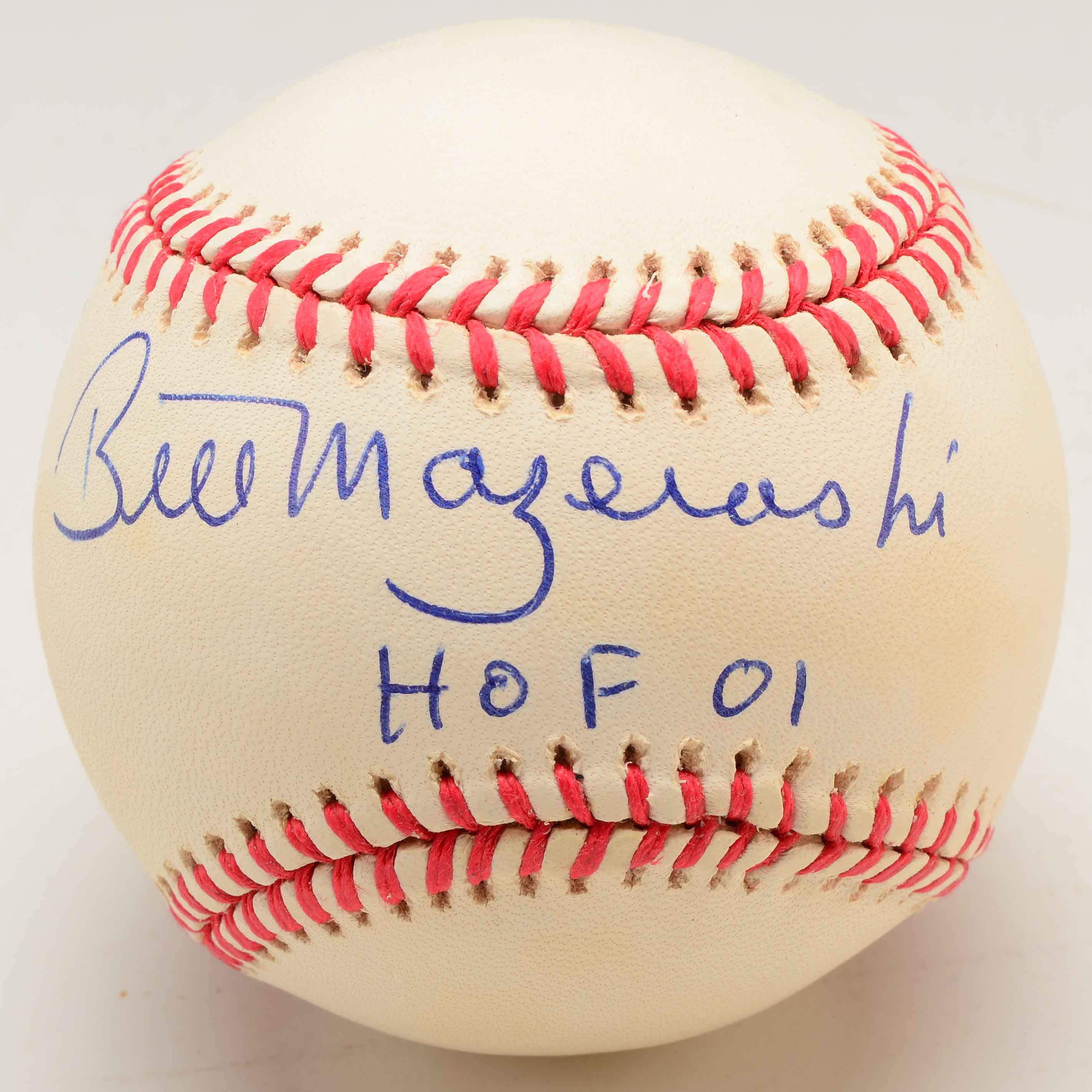 Bill Mazeroski Signed Rawlings Baseball