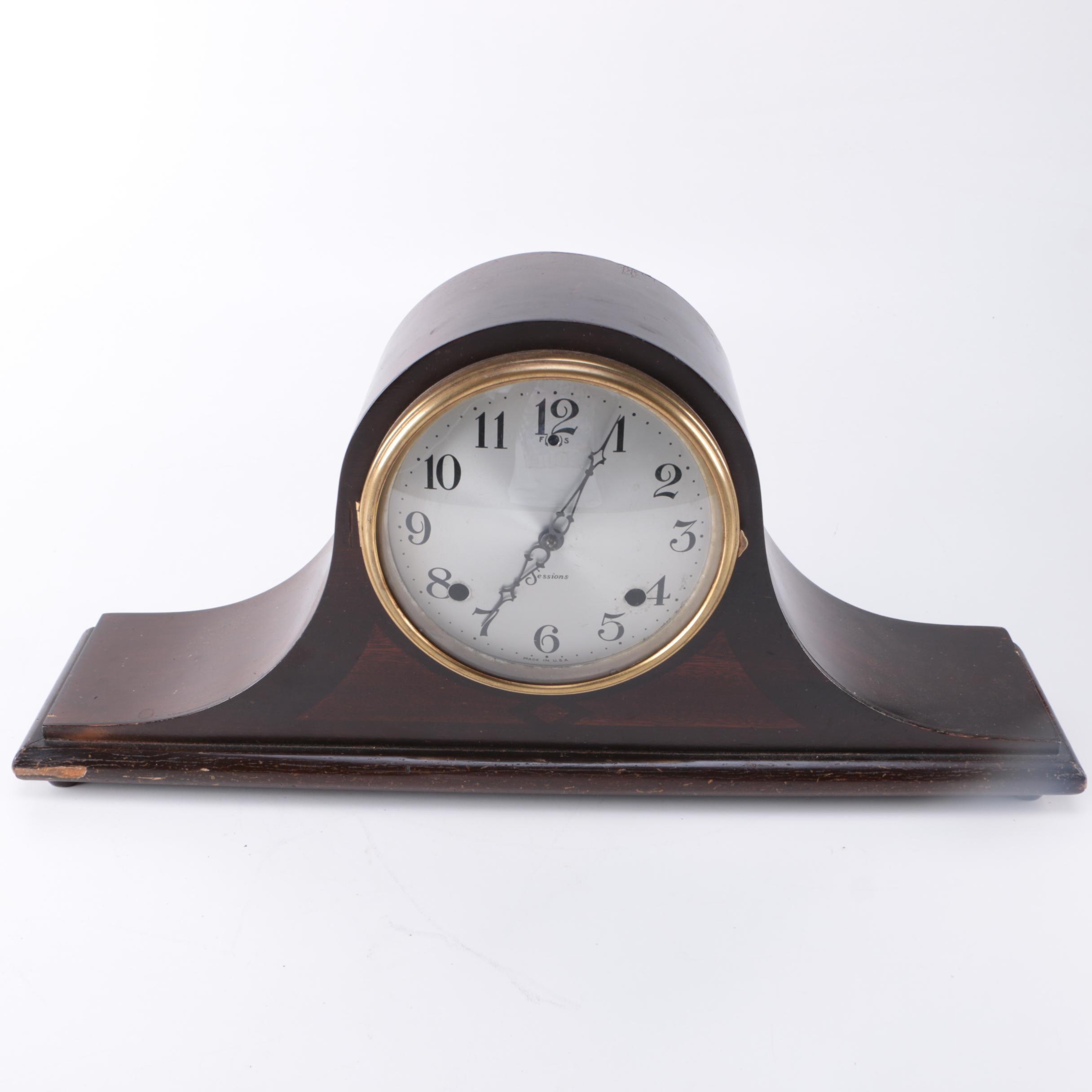 Vintage Sessions Clock Co. Mantle Clock