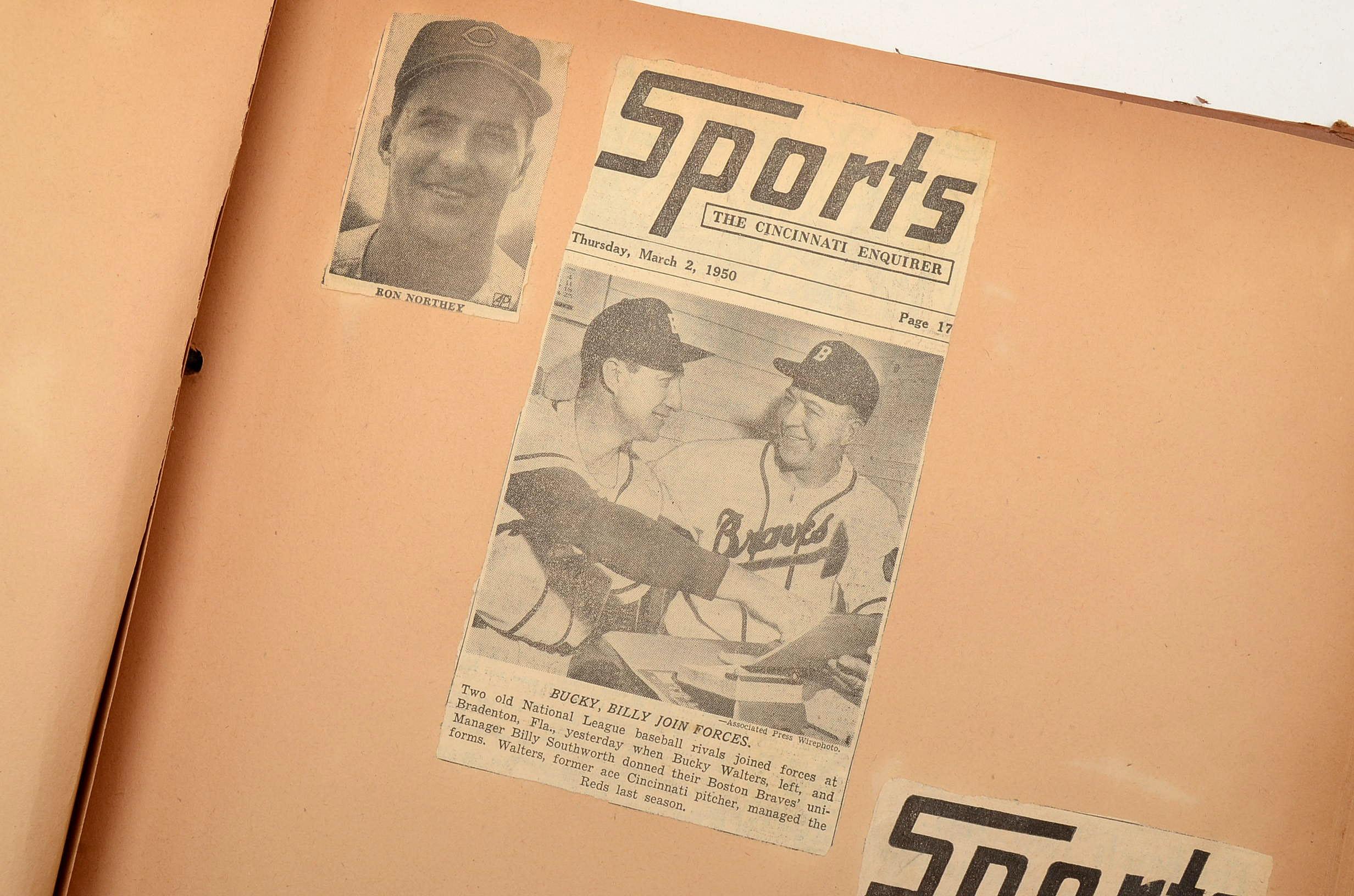 Mid-Century Baseball Scrapbook
