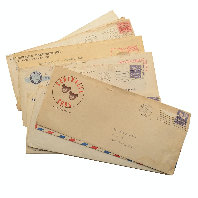 1950s MInor League Baseball Letters
