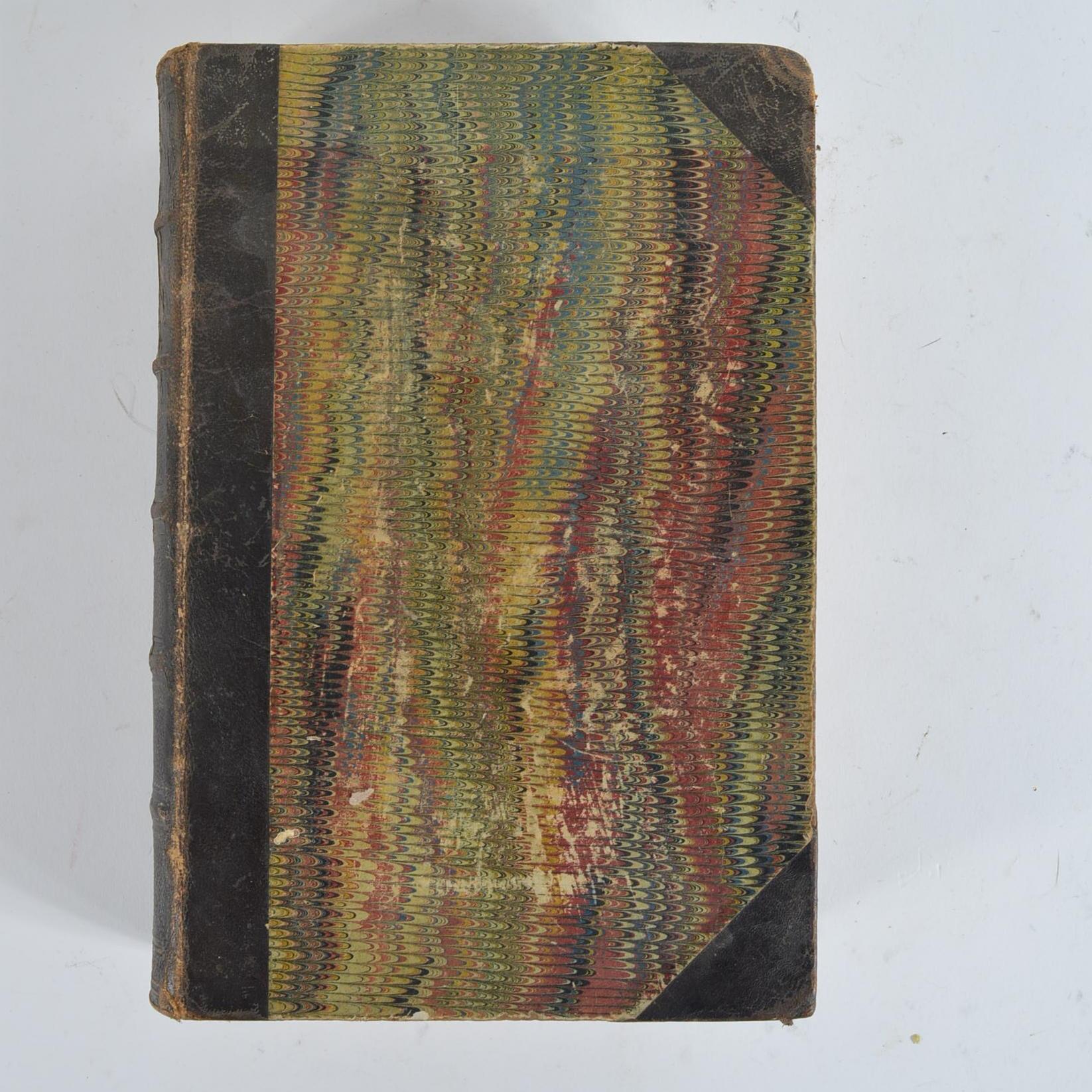 """1859 """"Peterson's Magazine"""" Bound Volume"""