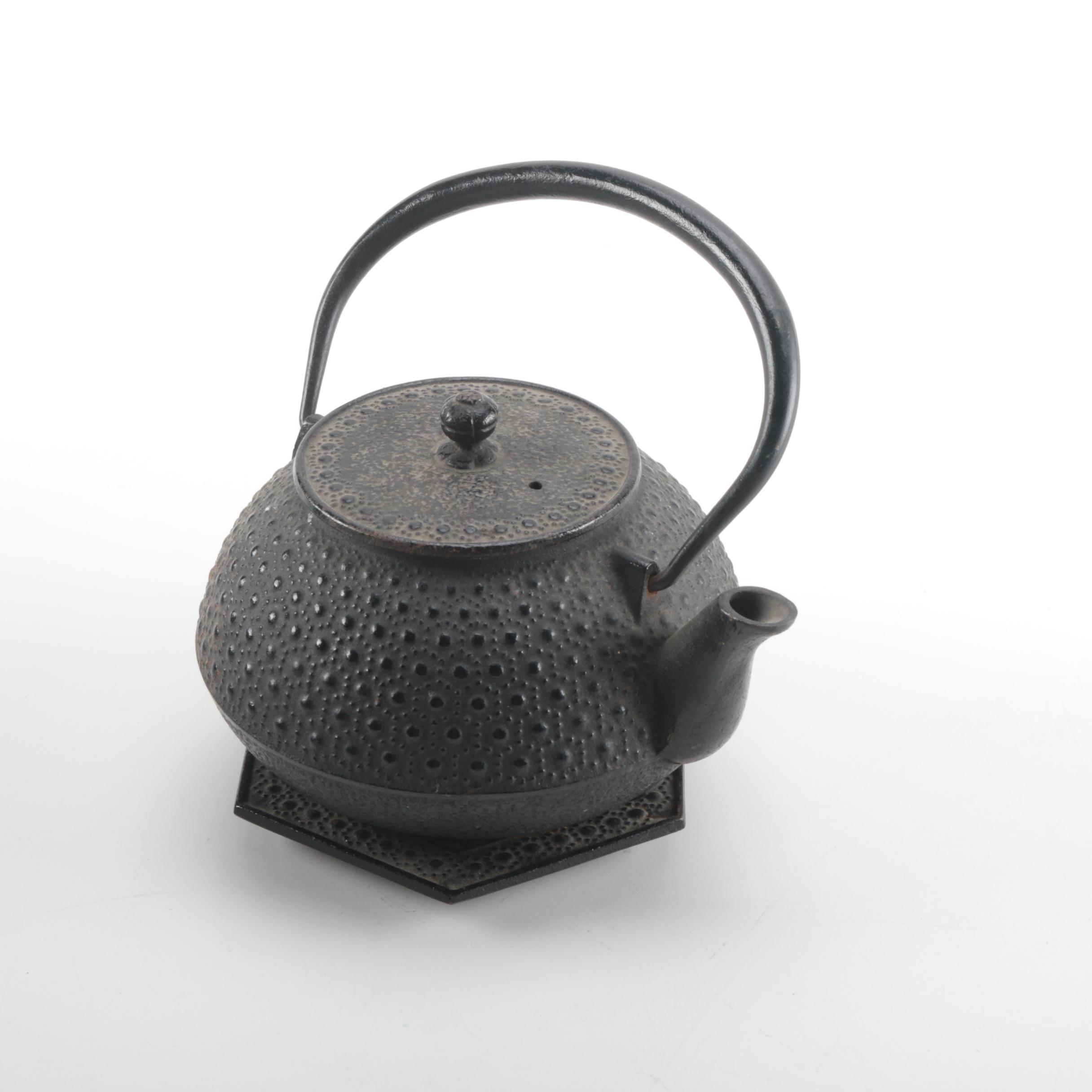 Japanese Cast Iron Tea Pot