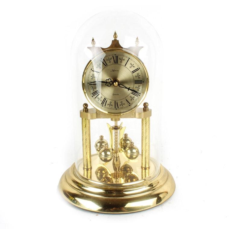 Marcel Brass Anniversary Clock