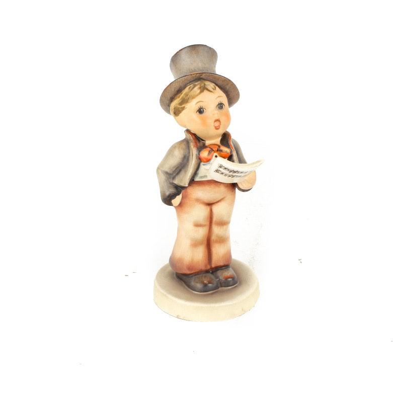 """Vintage Hummel """"Street Singer"""" Figurine"""