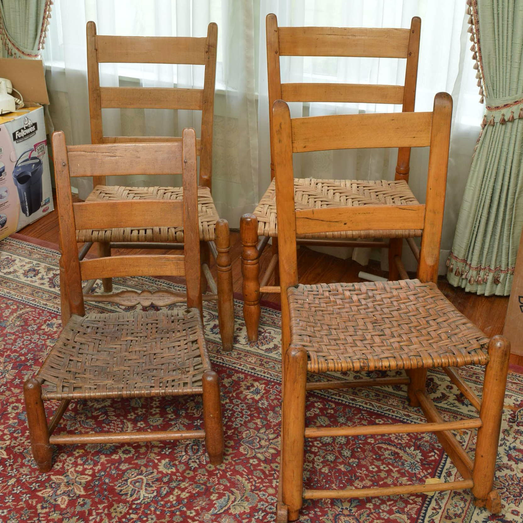 Woven Seat Chairs