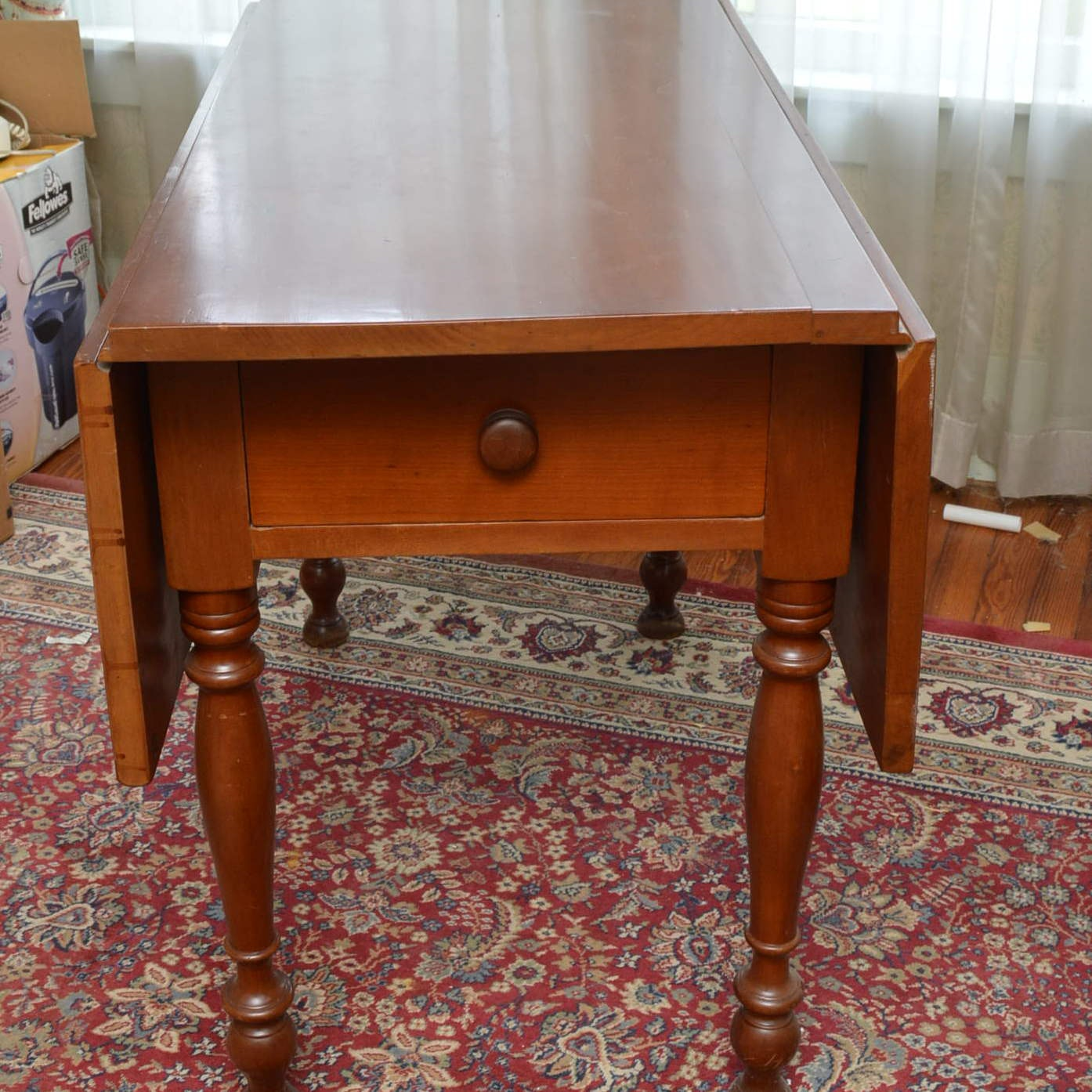 Antique Double Drop Leaf Table
