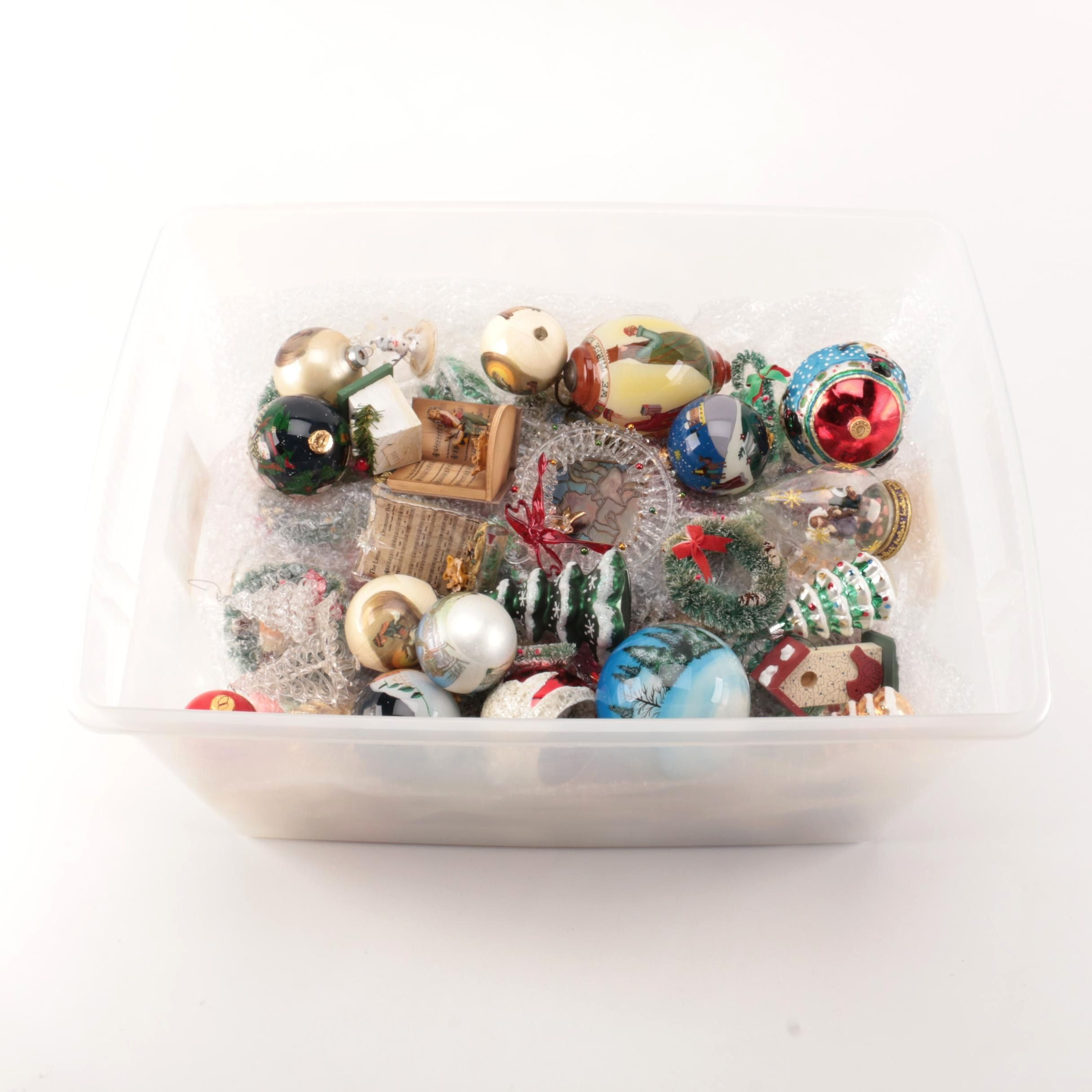 Generous Lot of Assorted Christmas Ornaments