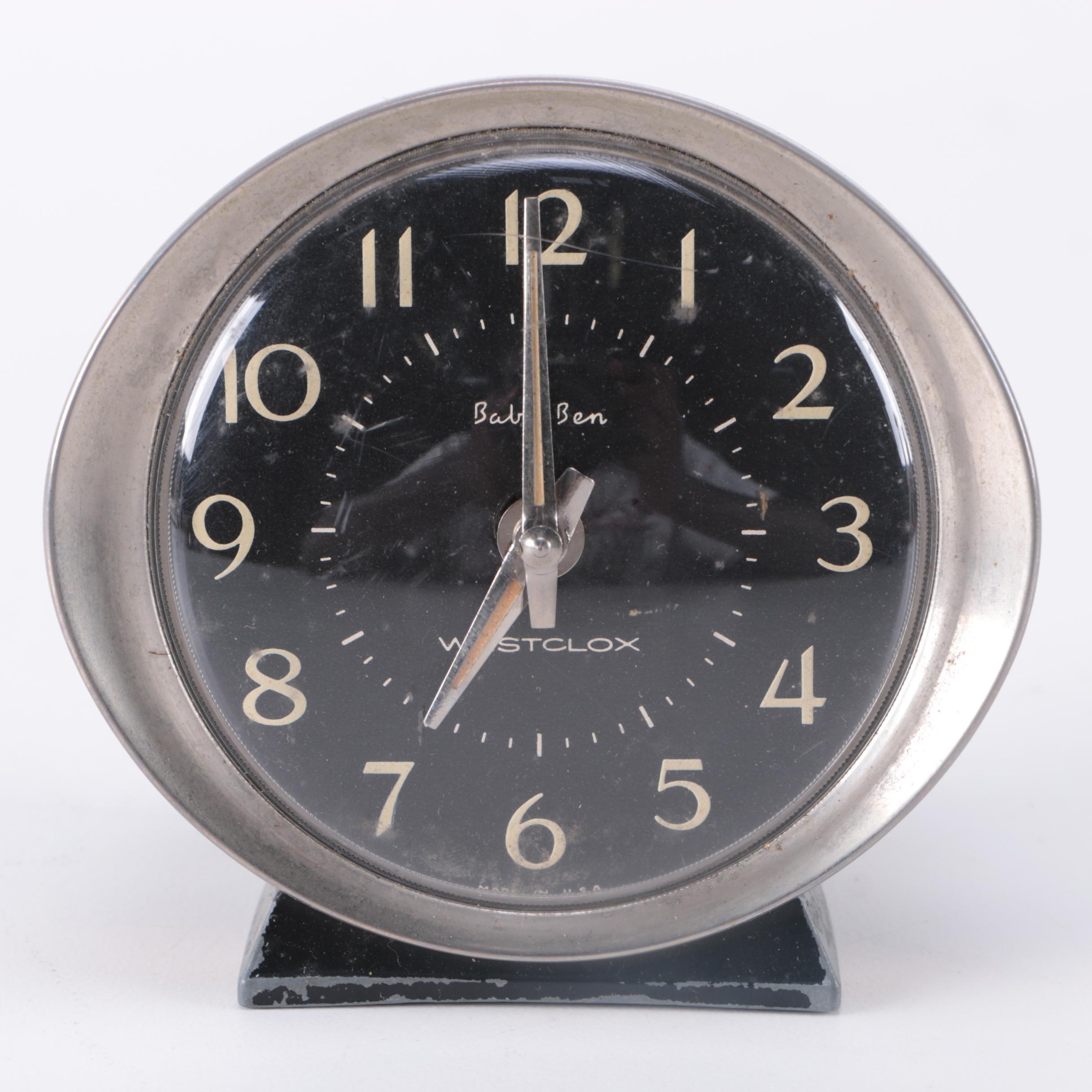 """Westclox """"Baby Ben"""" Alarm Clock"""