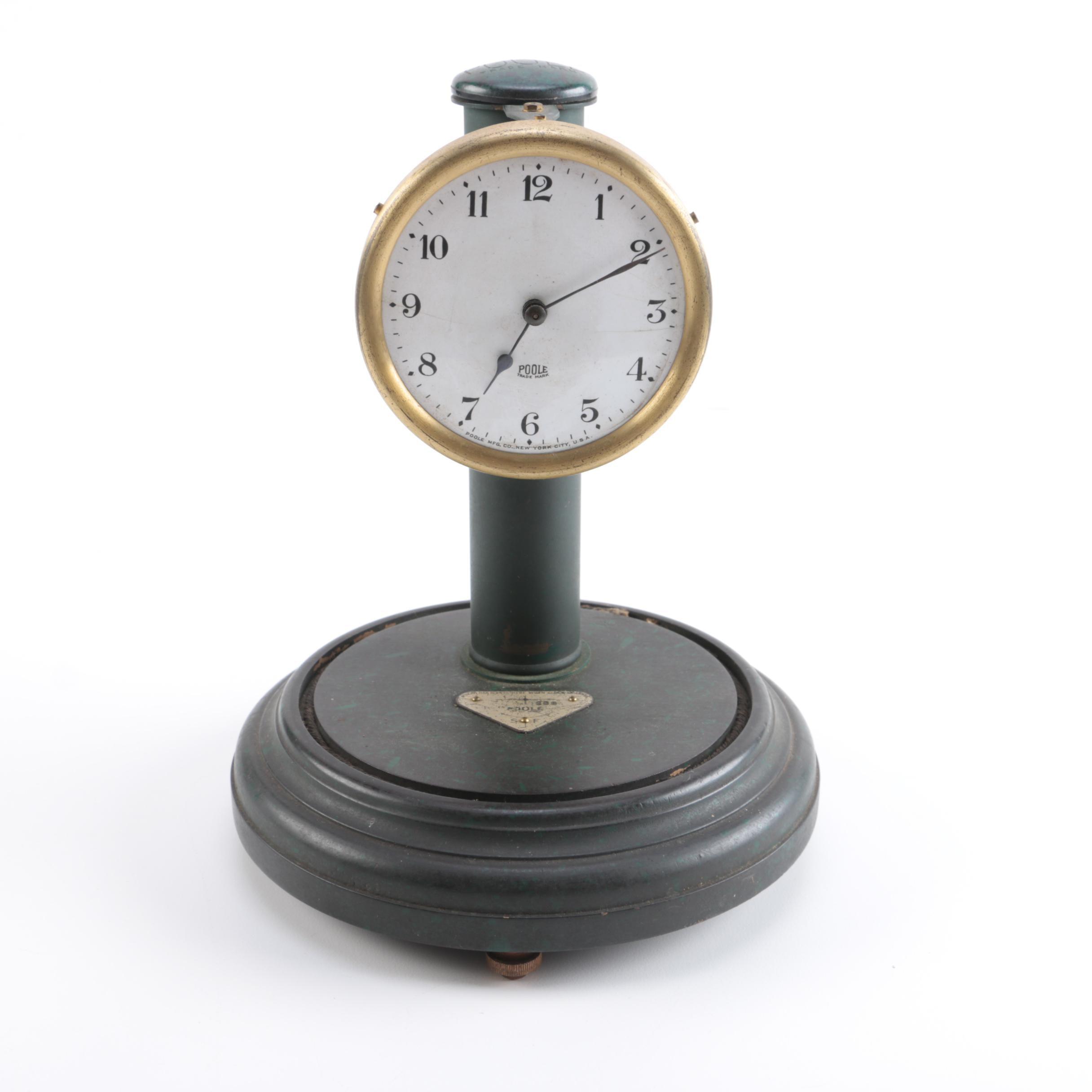 Poole Analog Mantle Clock