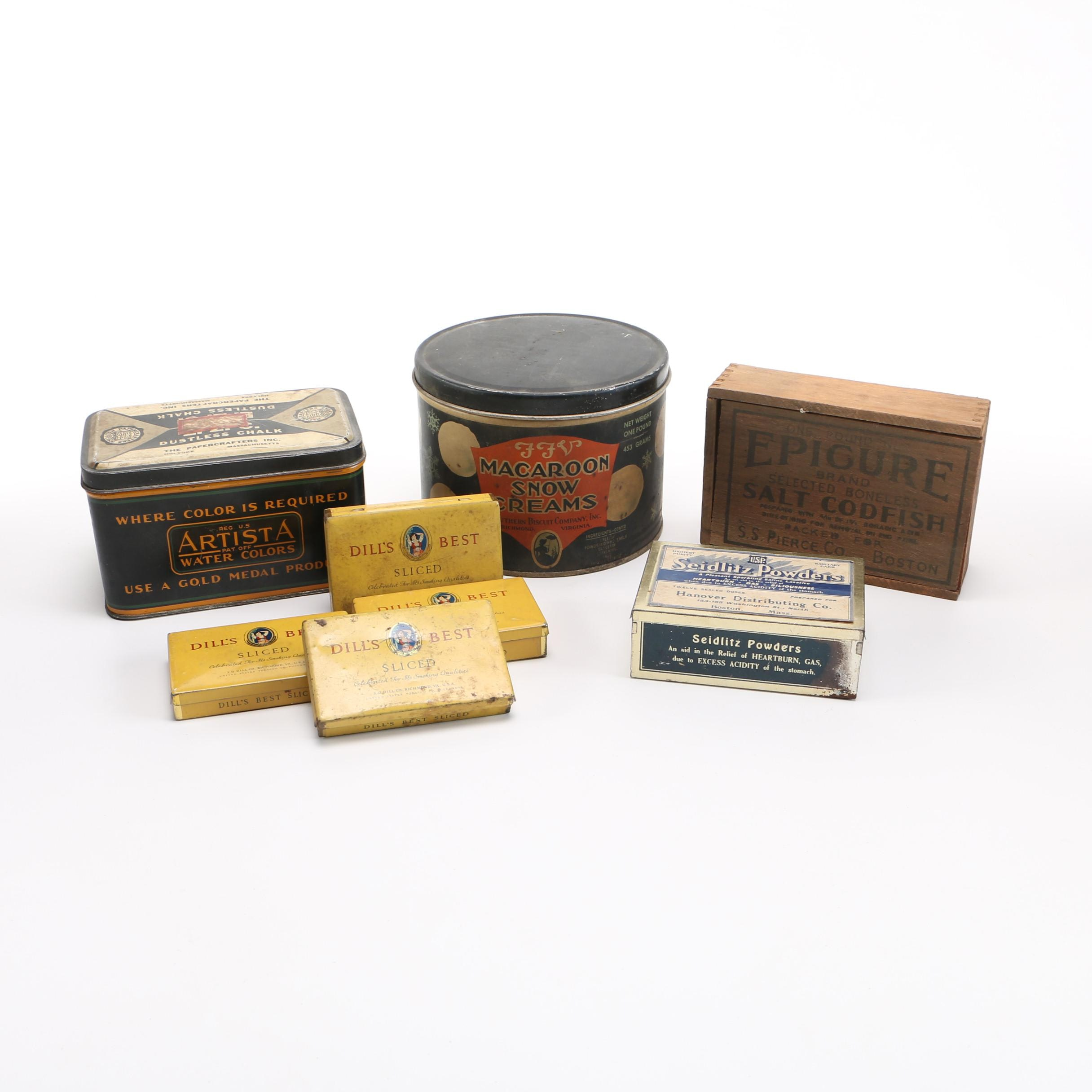 Metal and Wood Product Packages