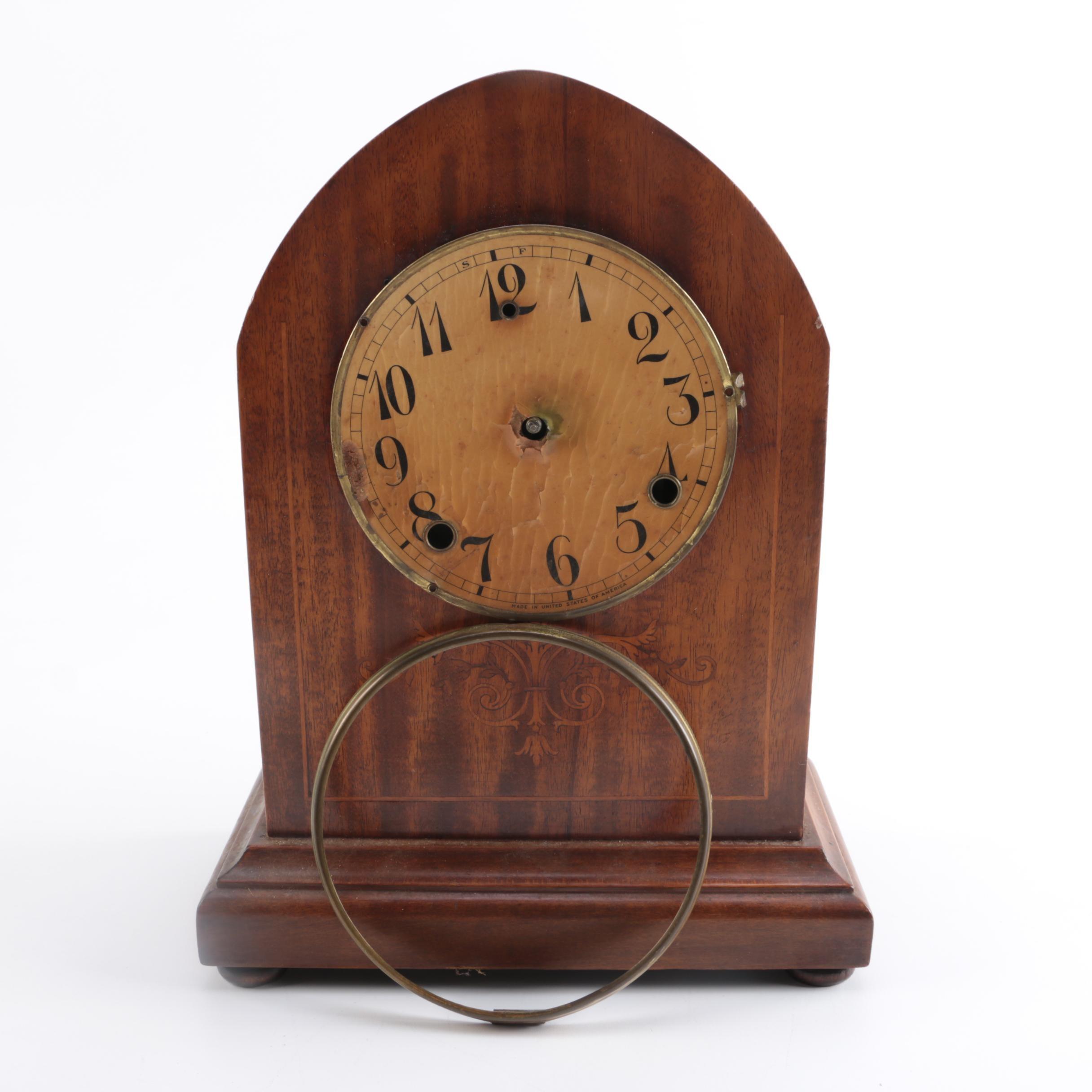 Antique Gilbert Clock Co. Mantle Clock